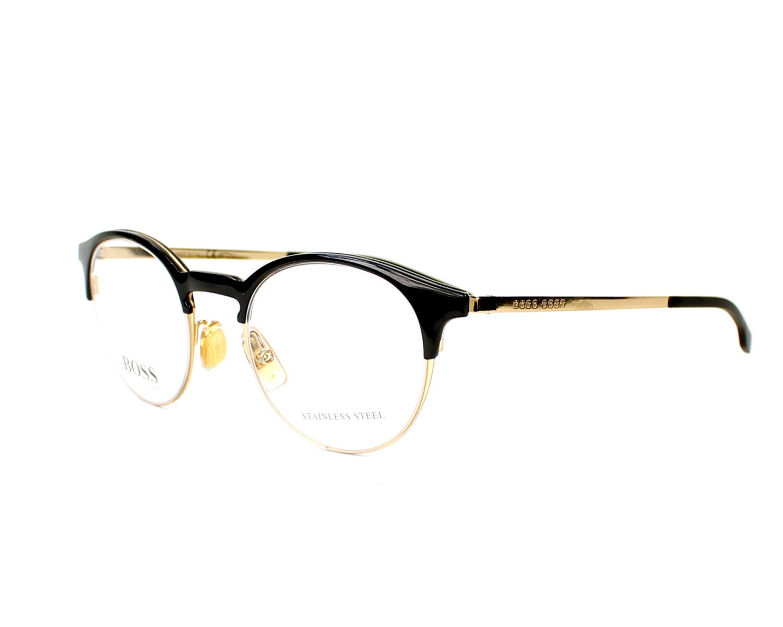 d0745ba8d14e4 Gafas Graduadas Hugo Boss BOSS-0785 J5G 47 21 Oro Negra