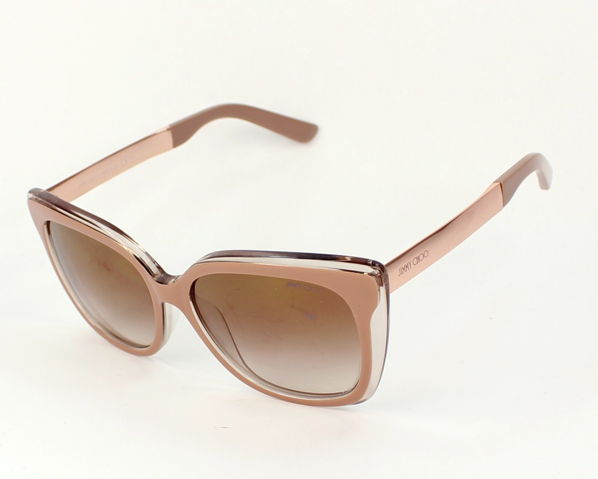 ddfb1c67fd02a Gafas de sol Jimmy Choo OCTAVIA-S 19X QH 55-16 Rosa Oro