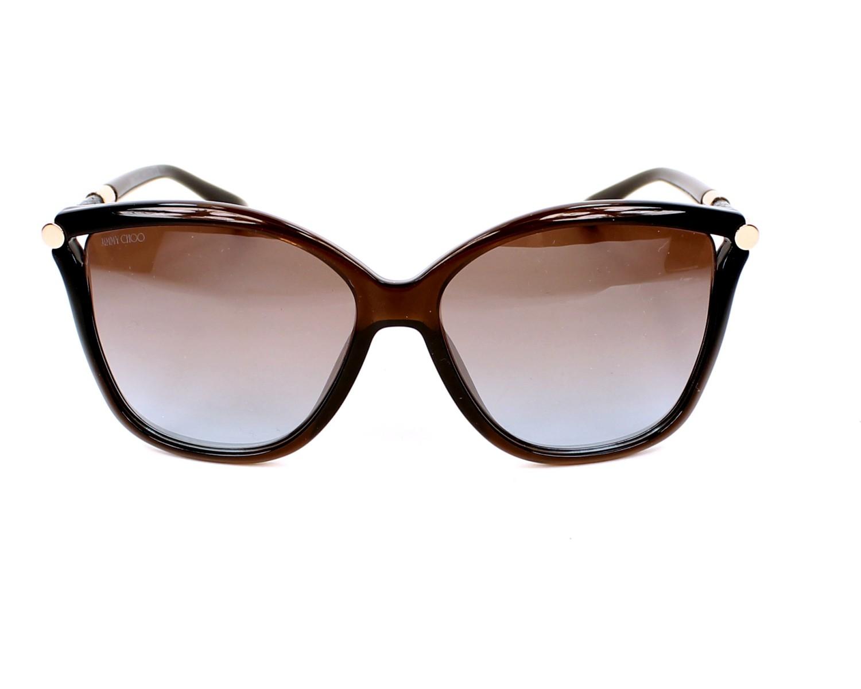 ef69da2b860ea Gafas de sol Jimmy Choo TATTI-S 8J9 TF 58-15 Marrón Bronce