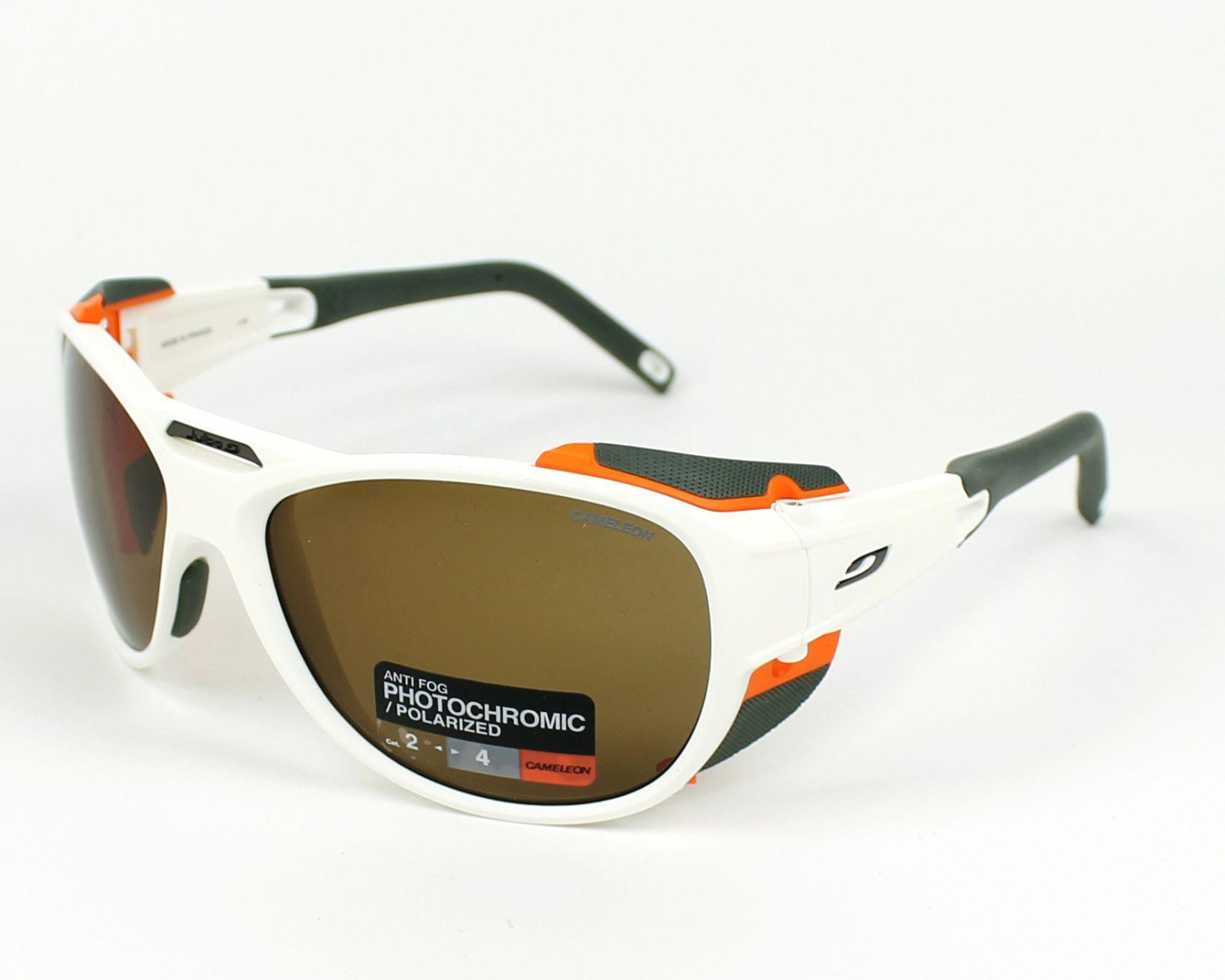 ab4bae16bd Gafas de sol Julbo J497 5011 - Blanco Naranja vista de perfil