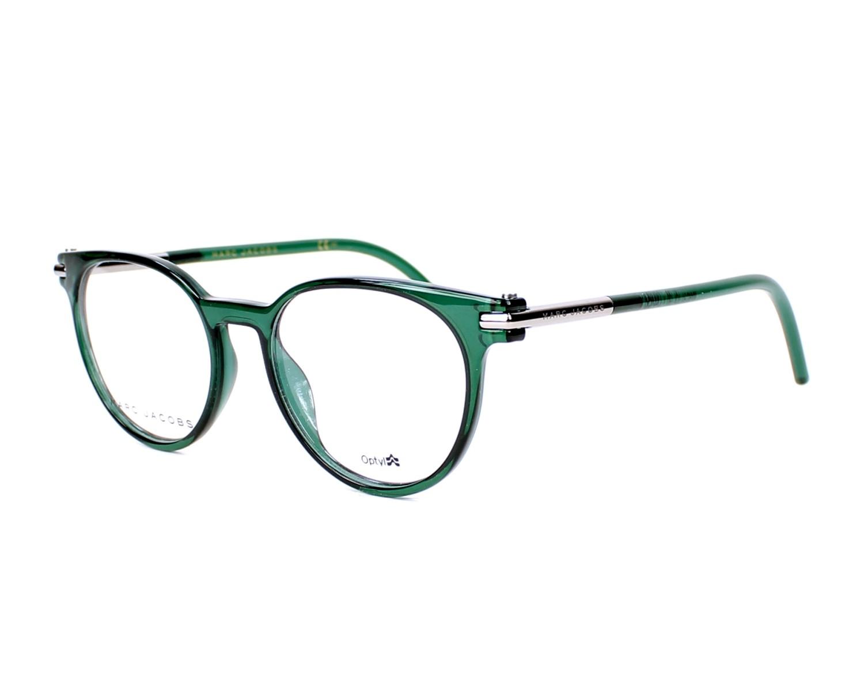 d81b33a112 Gafas Graduadas Marc Jacobs MARC-51 TOI 48-17 Verde Gun vista de perfil