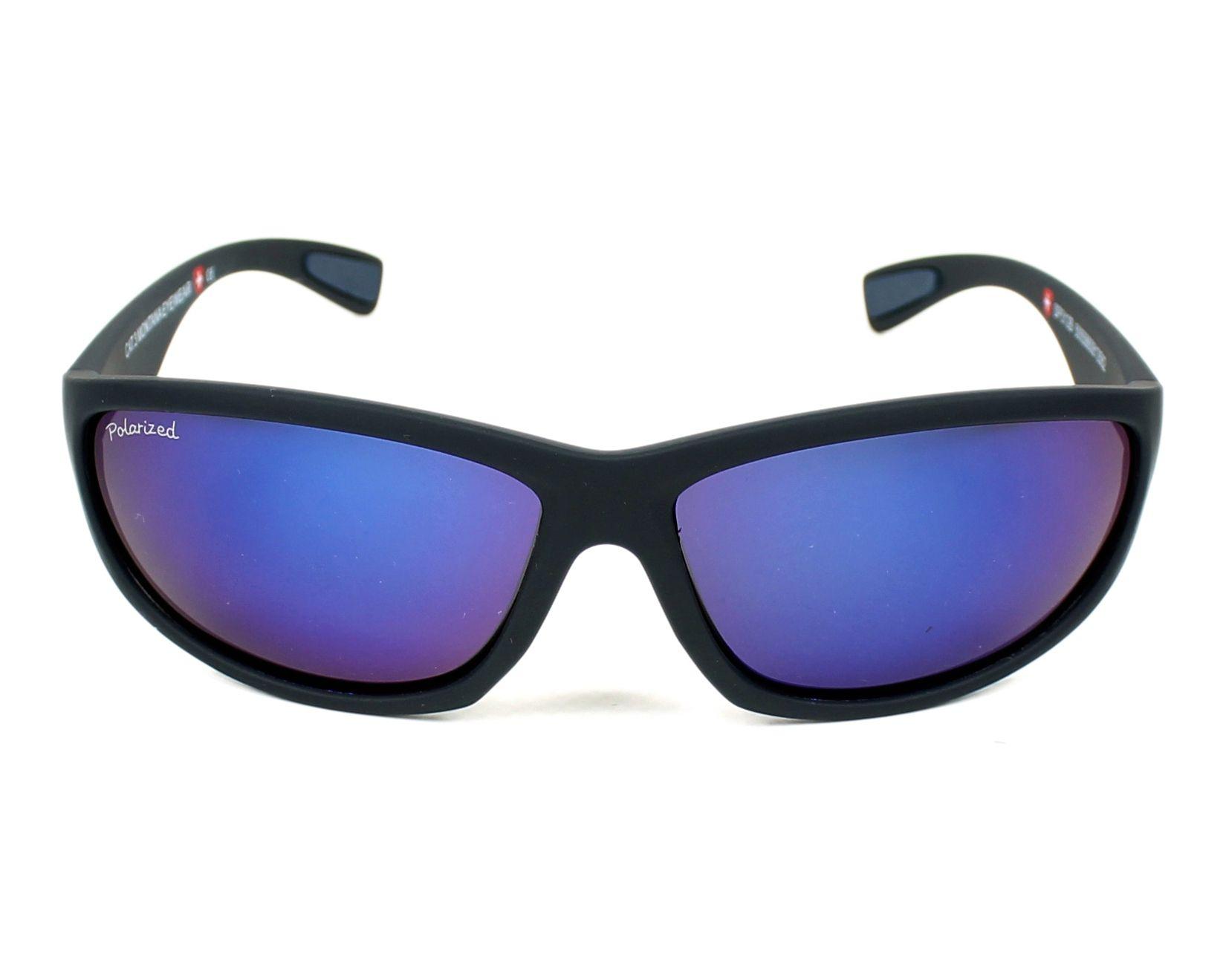 6ad16568c8 Gafas de sol Montana SP-312 B 63-14 Negra vista de frente