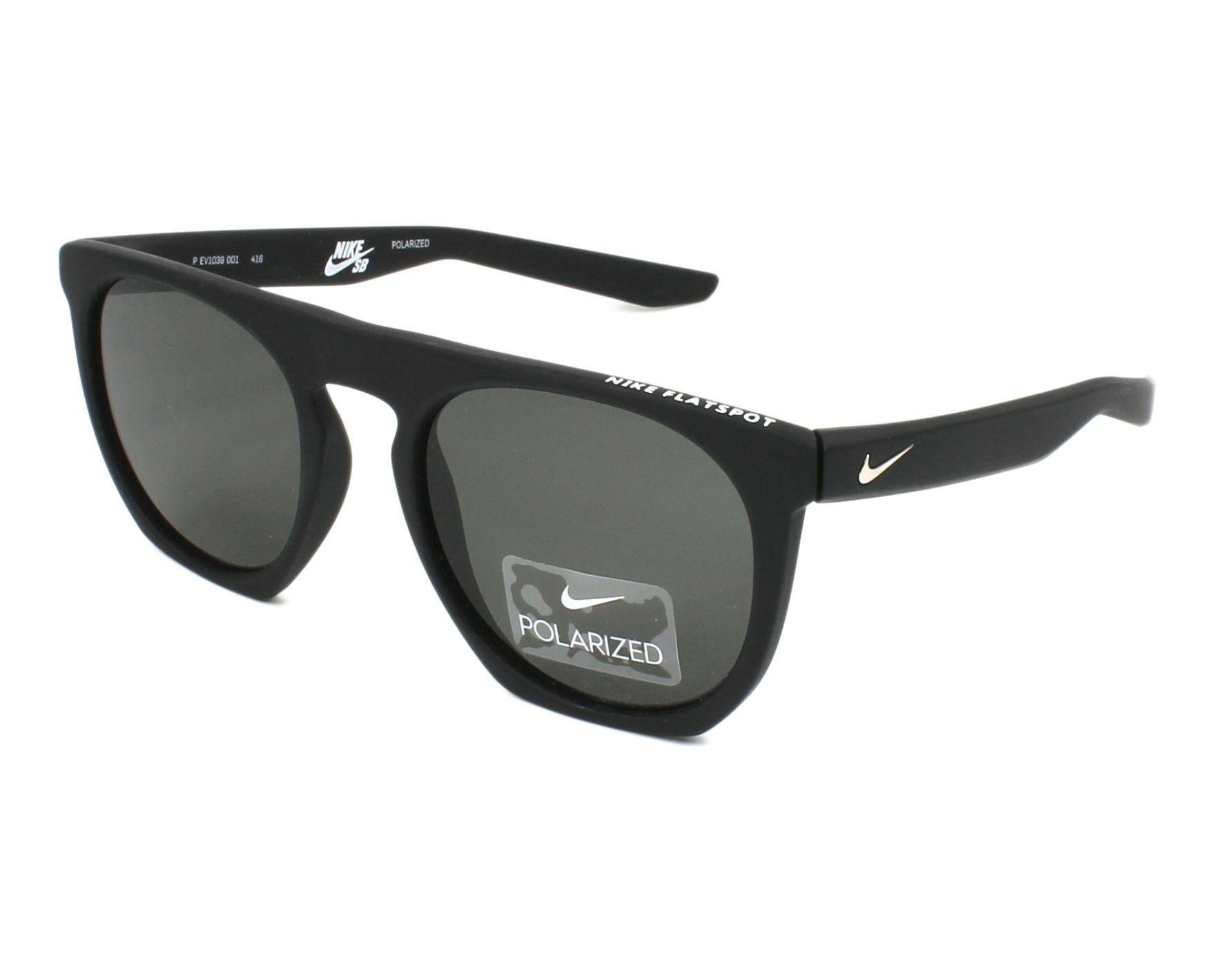 79bfc2a29e Gafas de sol Nike EV-1039 001 52-20 Negra vista de perfil