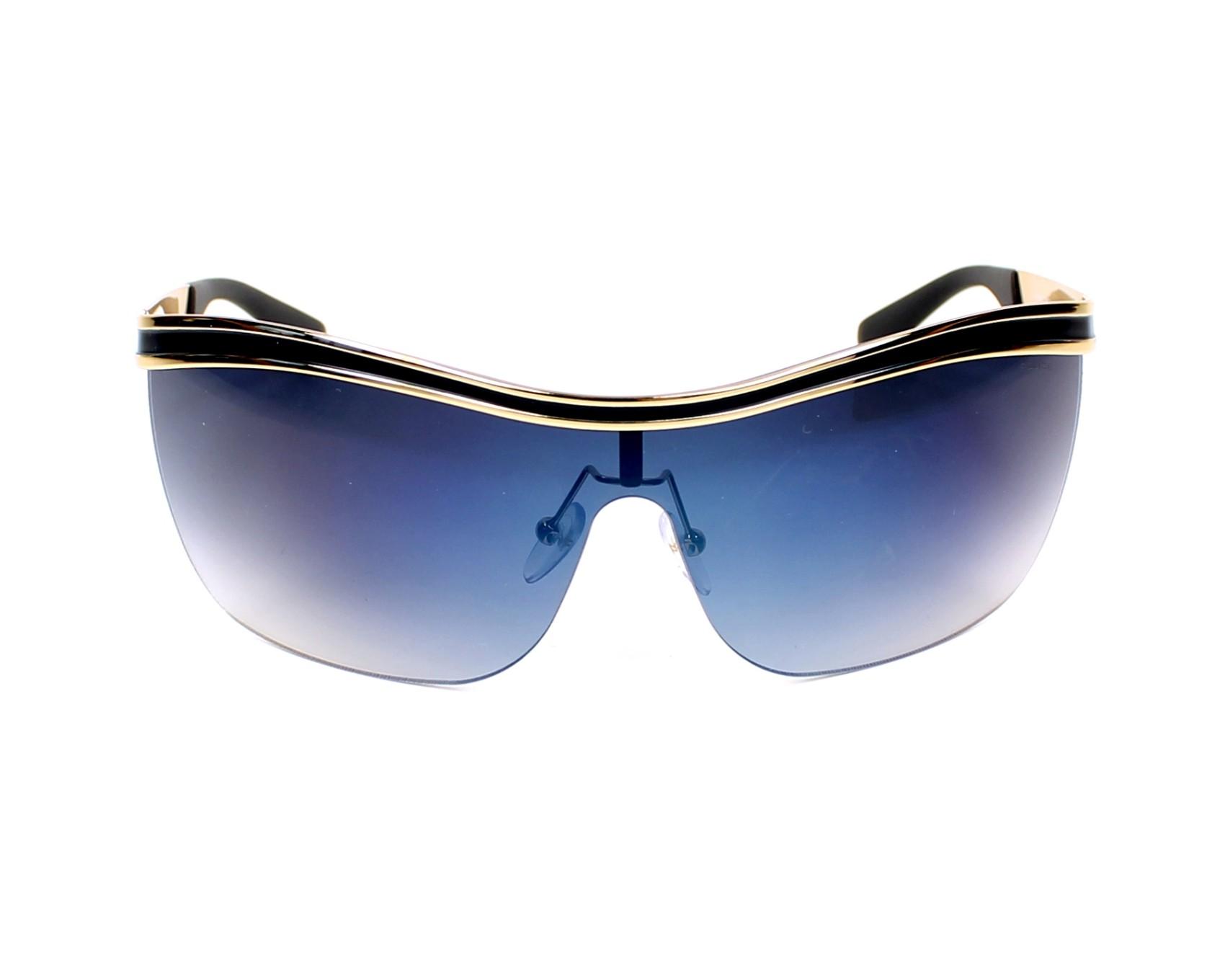 adf2be2cab Gafas de sol Police S-8872 354B - Oro Denim azul vista de frente