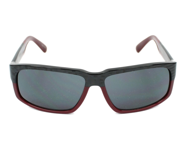 c6a6554530 Gafas de sol Porsche Design P-8547 C 61-14 Carbon Bordeaux vista de