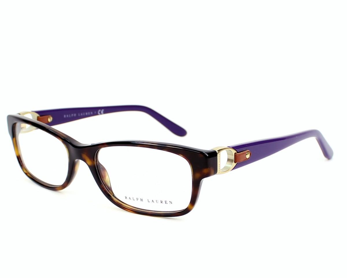 52afd93ec6 Gafas Graduadas Ralph Lauren RL-6106-Q 5003 - Havana Lila Purpura vista de