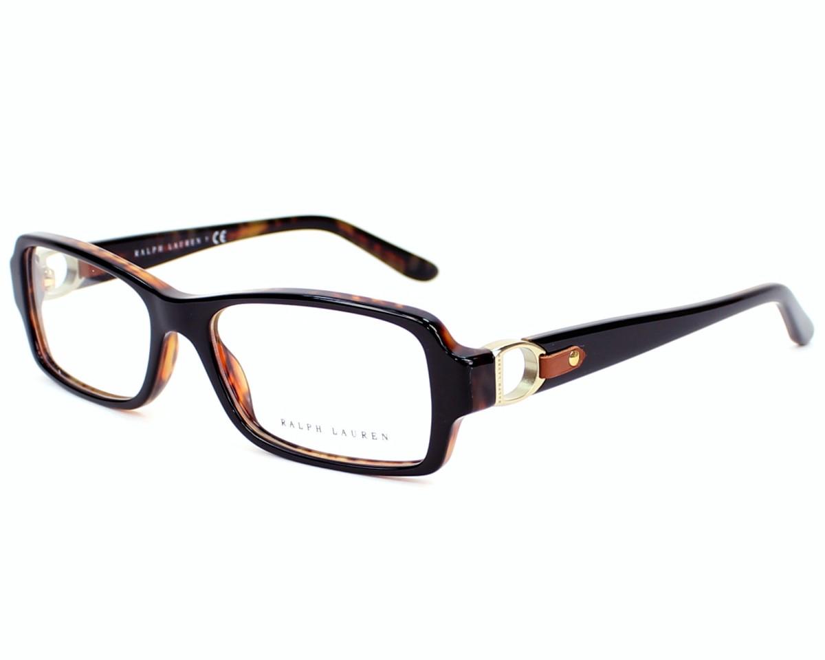 ca7bfa553f Gafas Graduadas Ralph Lauren RL-6107-Q 5260 - Negra Havana vista de perfil