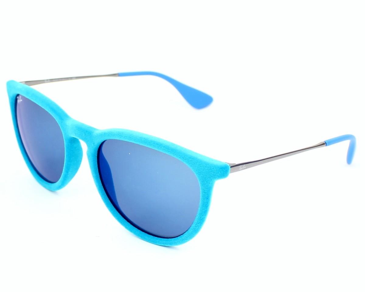 282d4c48e2 Gafas de sol Ray-Ban RB-4171 6079/55 - Azul Plata vista