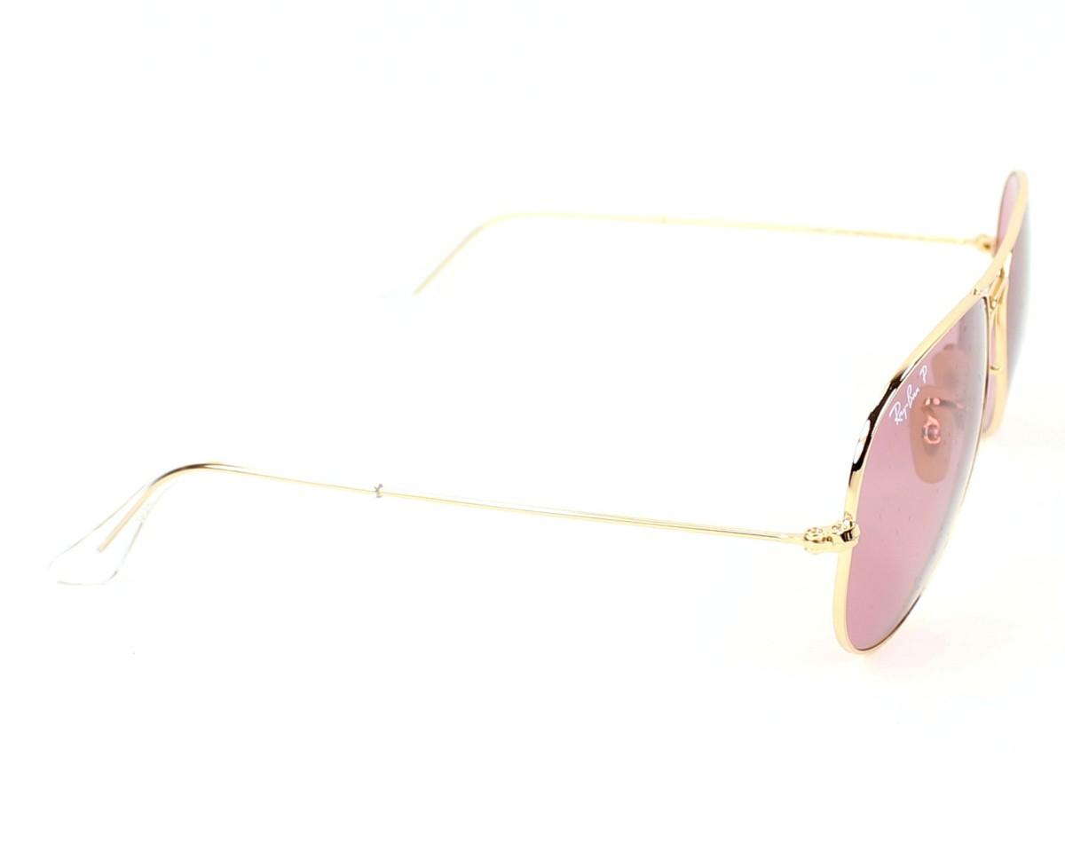 963a4066808ca Gafas de sol Ray-Ban RB-3025 001 15 - Oro vista lateral