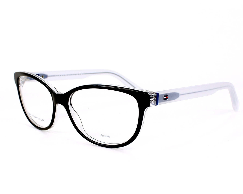 Gafas Graduadas Tommy Hilfiger TH-1364 K2R - Negra Cristal vista de perfil 6489f6d83b80