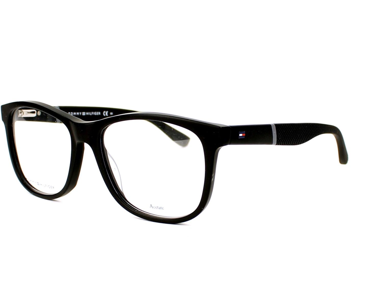 Gafas Graduadas Tommy Hilfiger TH-1406 KUN 54-17 Negra vista de perfil a026afd39ac3