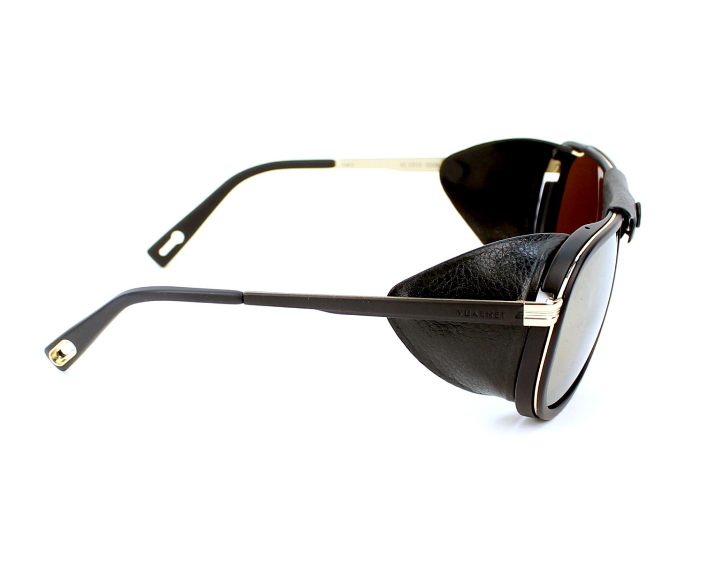 Gafas de sol Vuarnet VL-1315 0008-2124 60-19 Negra Oro vista c02cb40cb905