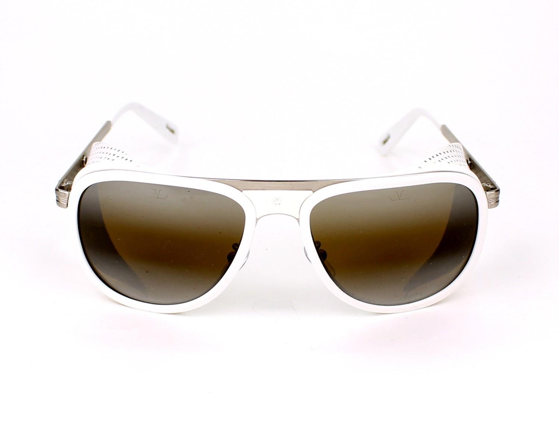 Gafas de sol Vuarnet VL-1315 0005 - Blanco Plata vista de frente e473073e5353