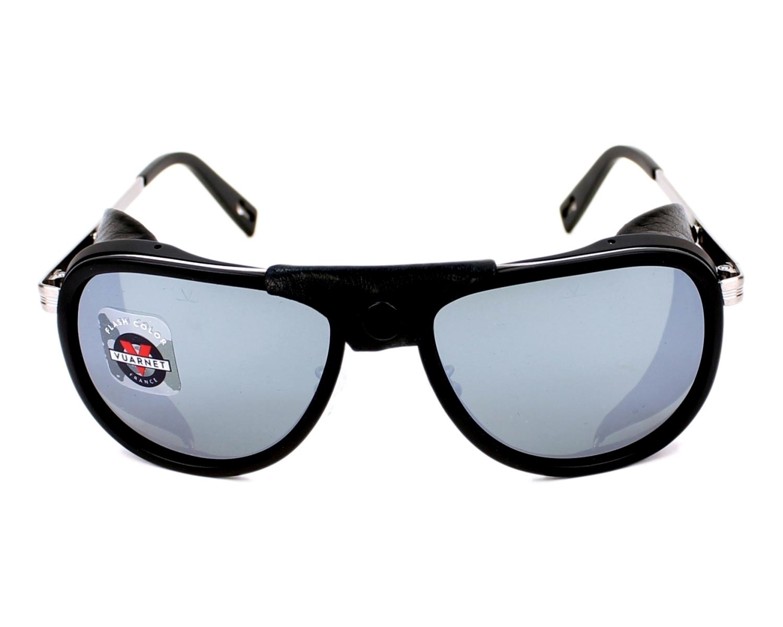 Gafas de sol Vuarnet VL-1315 0009-1123 55-14 Negra Gris cenizas fc0c35599b08