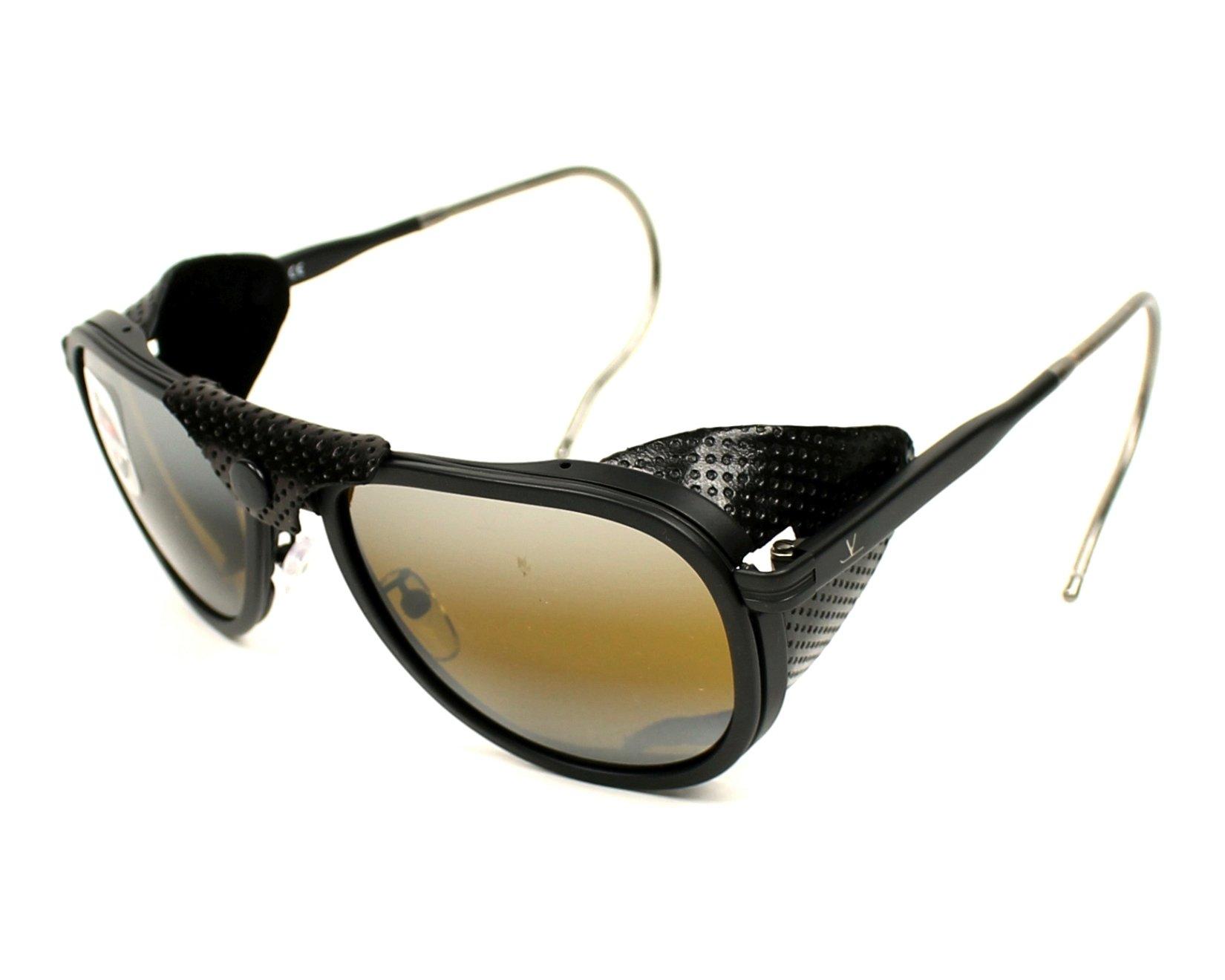 Gafas de sol Vuarnet VL-1315 0010-7184 55-18 Negra vista de 264c7355903c