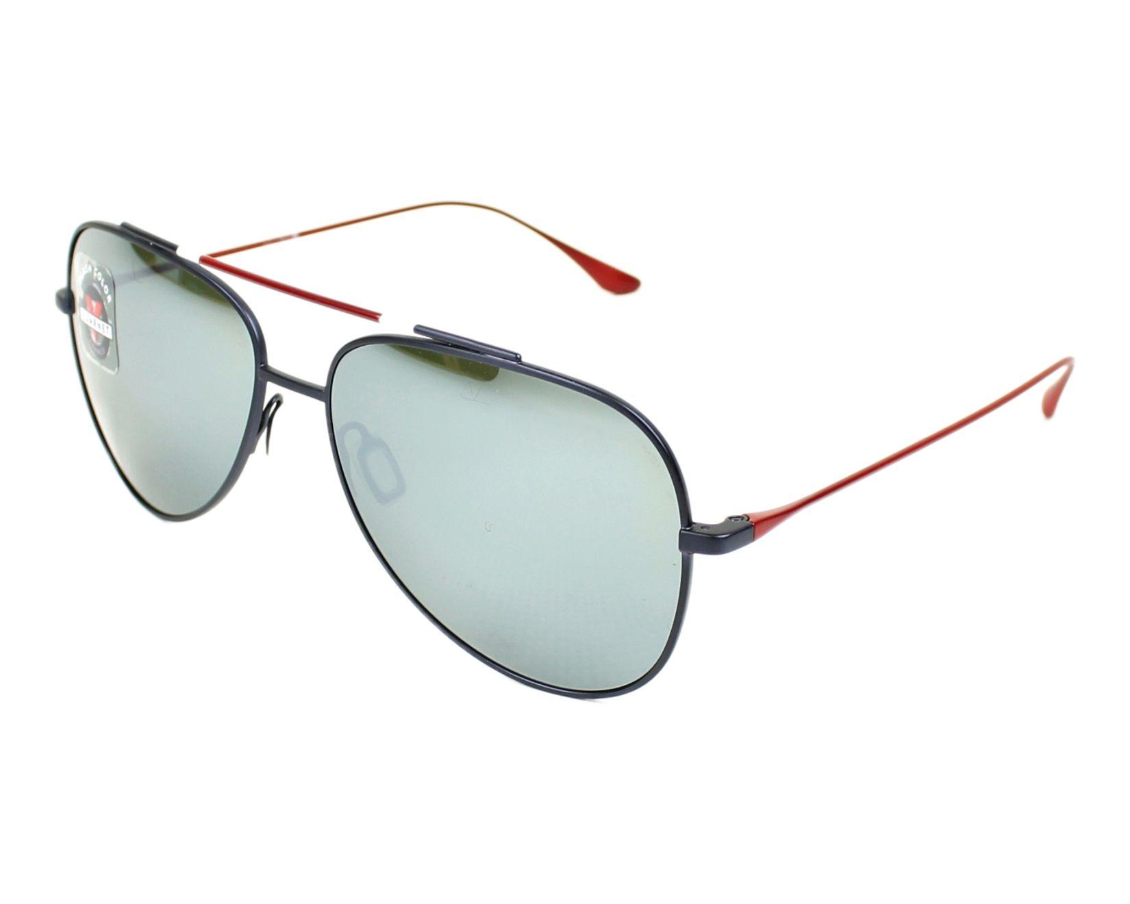 ef40674033c912 Gafas de sol Vuarnet VL-1611 0005-1123 - Rojo Azul vista de perfil