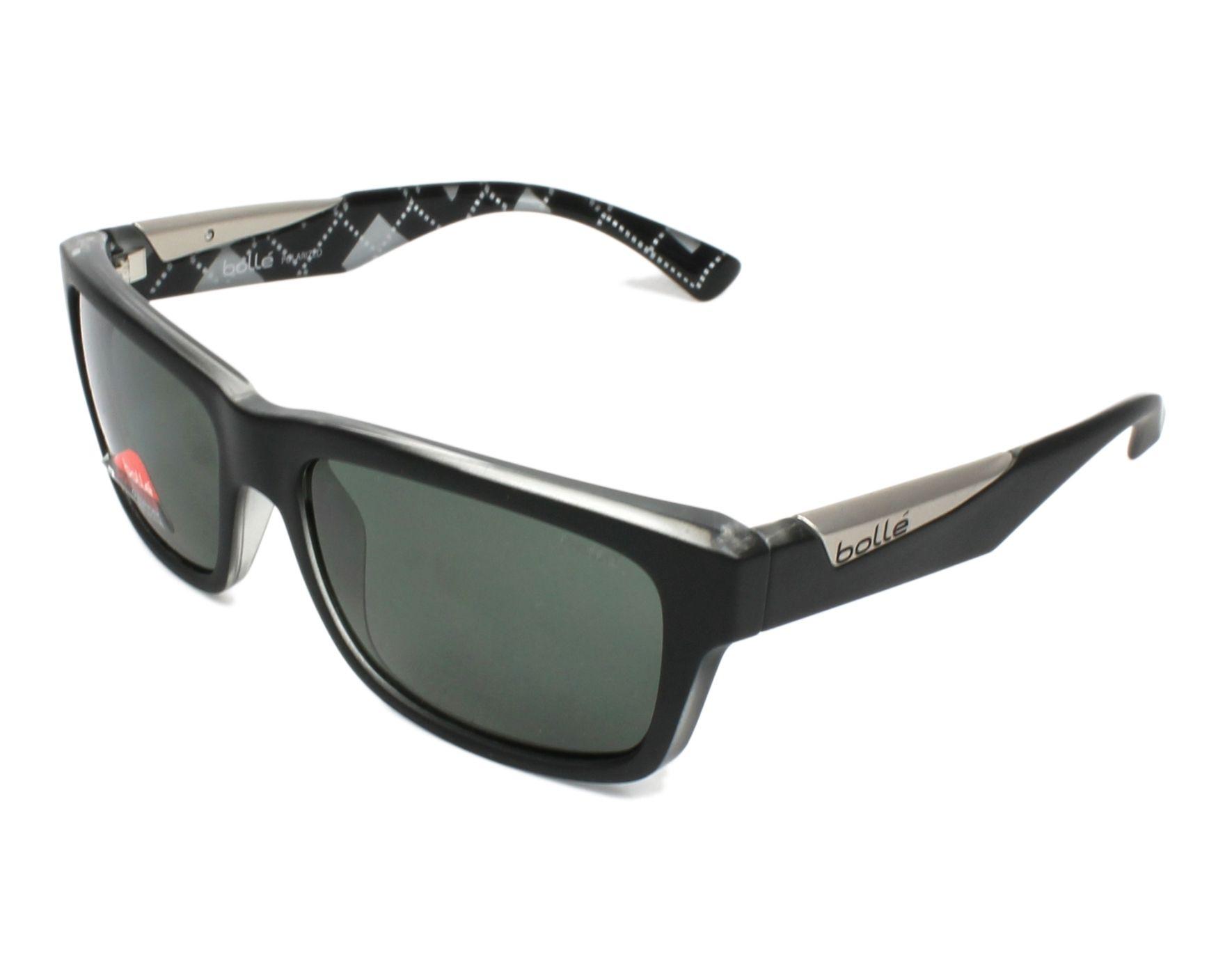 efc235888e Gafas de sol Bollé JUDE 11833 - Negra Cristal vista de perfil