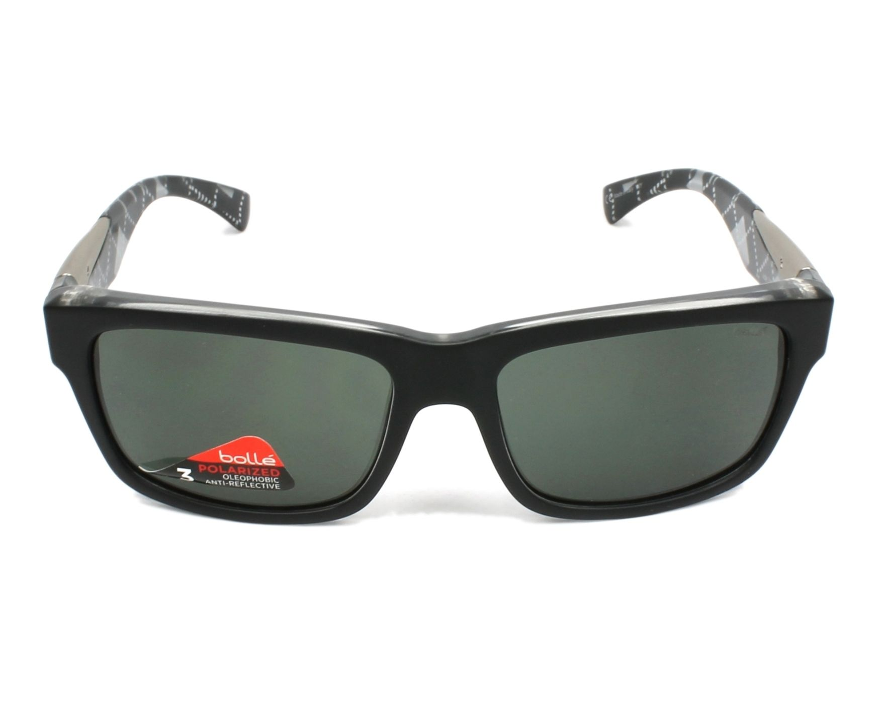 3ff12247c3 Gafas de sol Bollé JUDE 11833 - Negra Cristal vista de frente