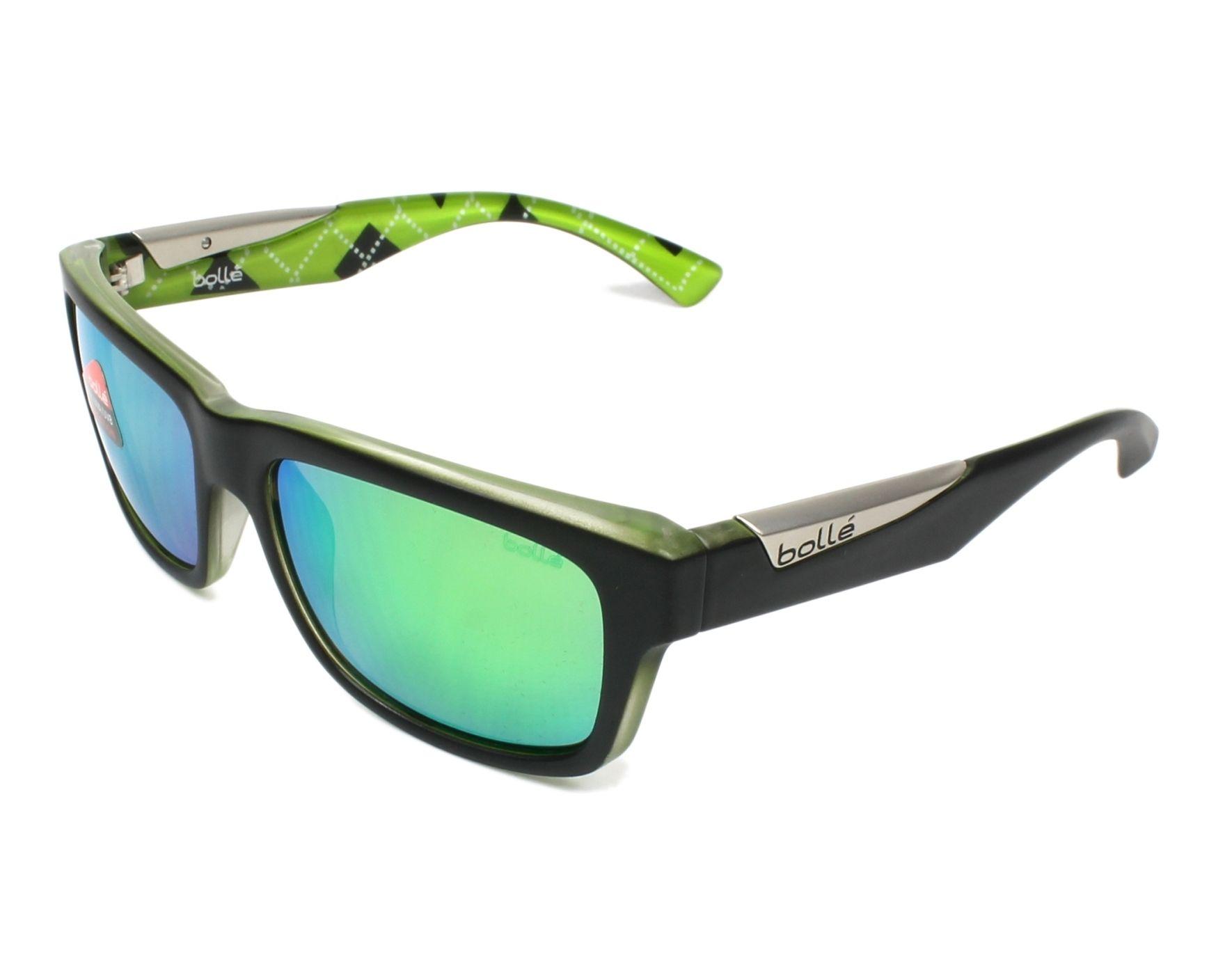 87199fcd62 Gafas de sol Bollé JUDE 11990 - Negra Cristal vista de perfil