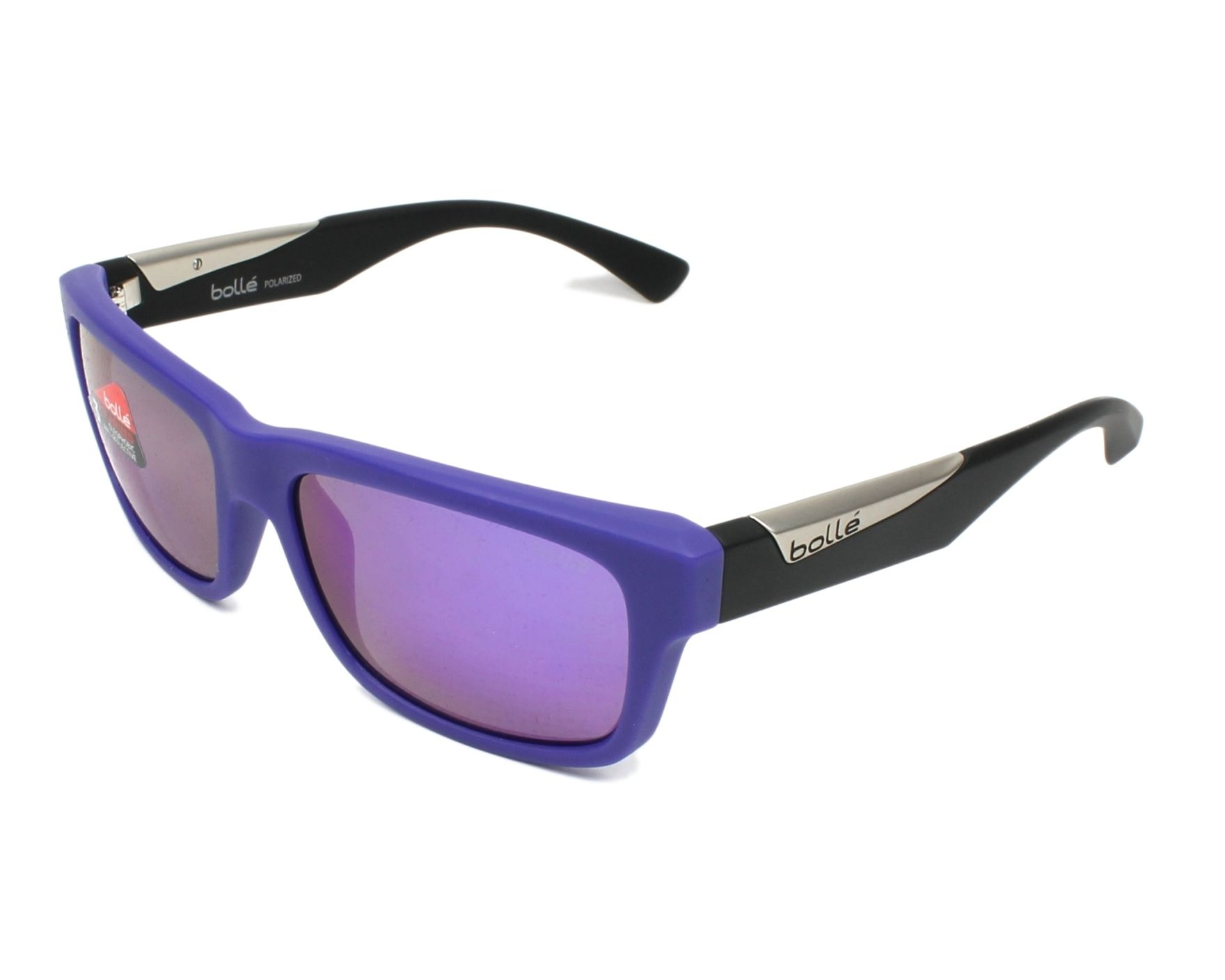b54f8da5a5 Gafas de sol Bollé JUDE 12114 56-18 Lila Negra vista de perfil
