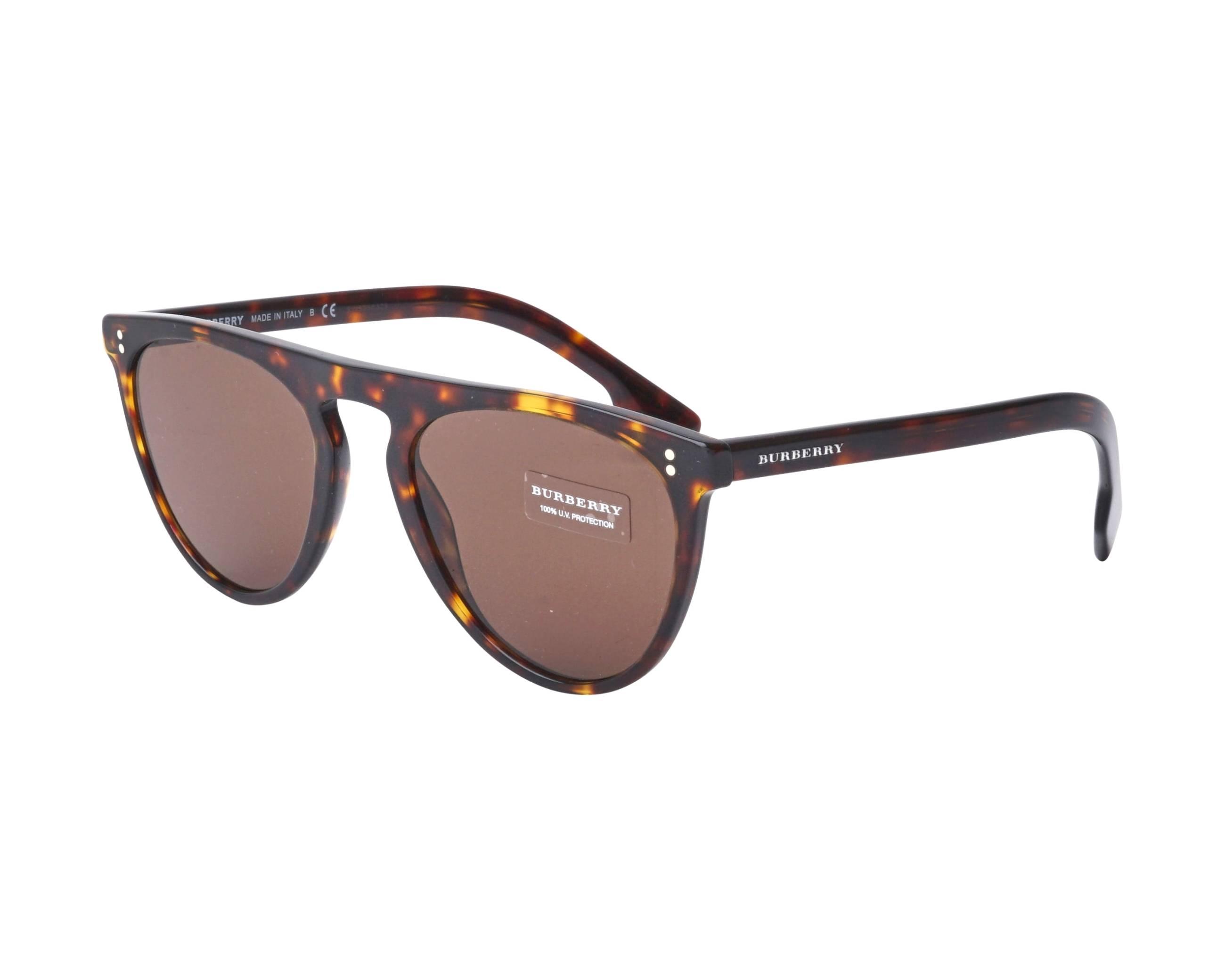 cba526ca3a Gafas de sol Burberry BE-4281 300273 54-21 Havana vista de perfil