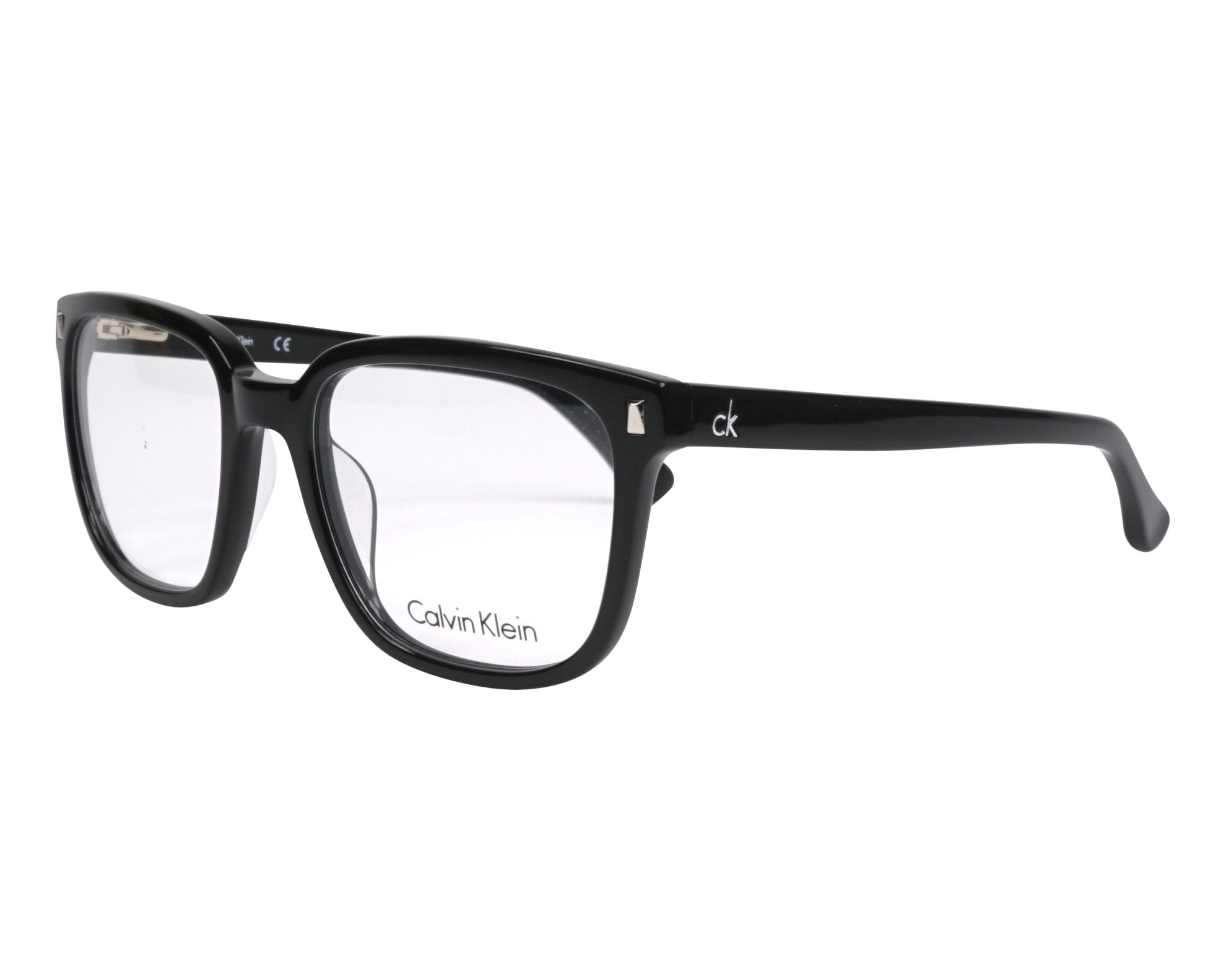 f64dd0670c Gafas Graduadas Calvin Klein CK-5862 001 52-19 Negra vista de perfil