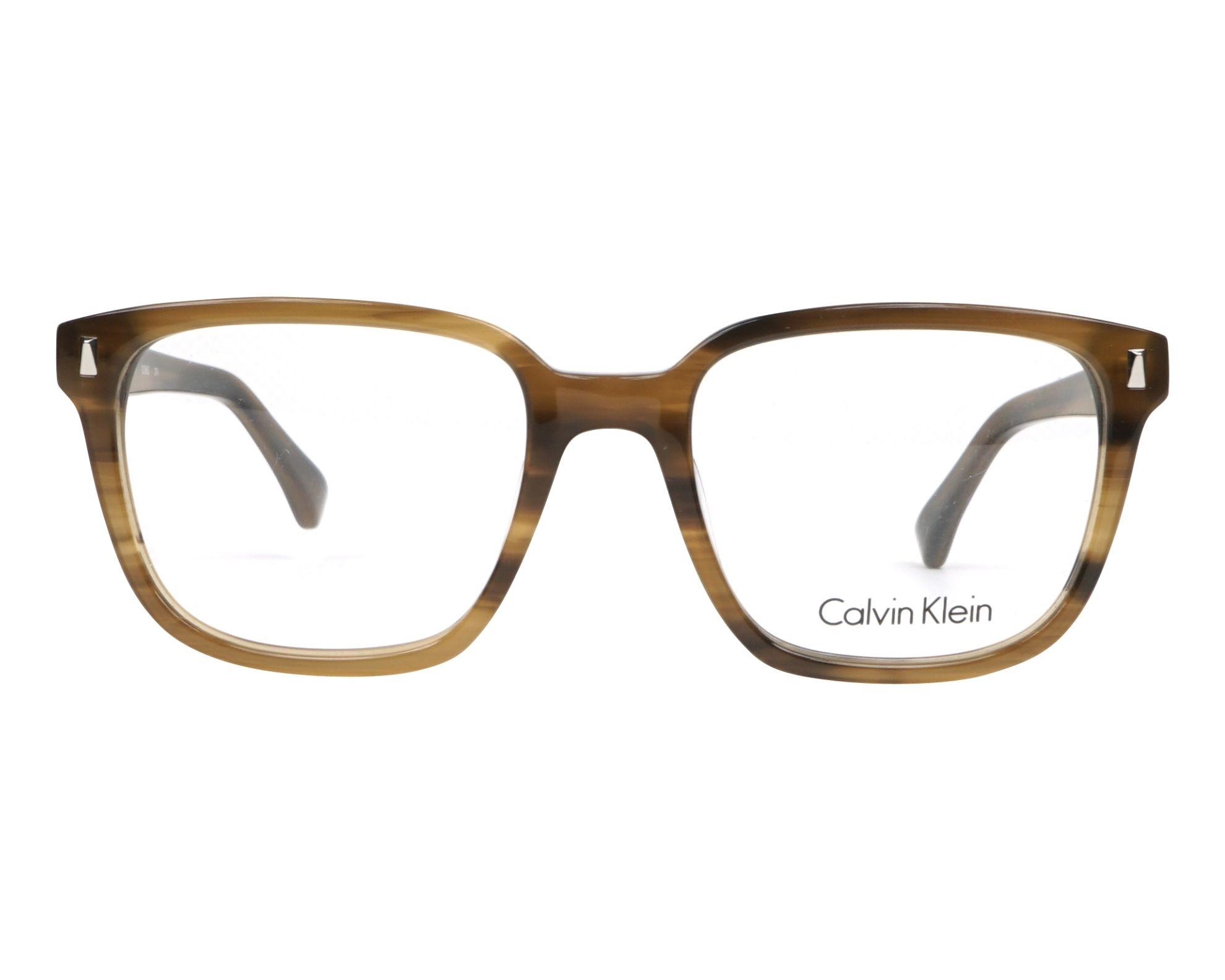 073aabc4ef Gafas Graduadas Calvin Klein CK-5862 274 52-19 Marrón Marrón vista de frente