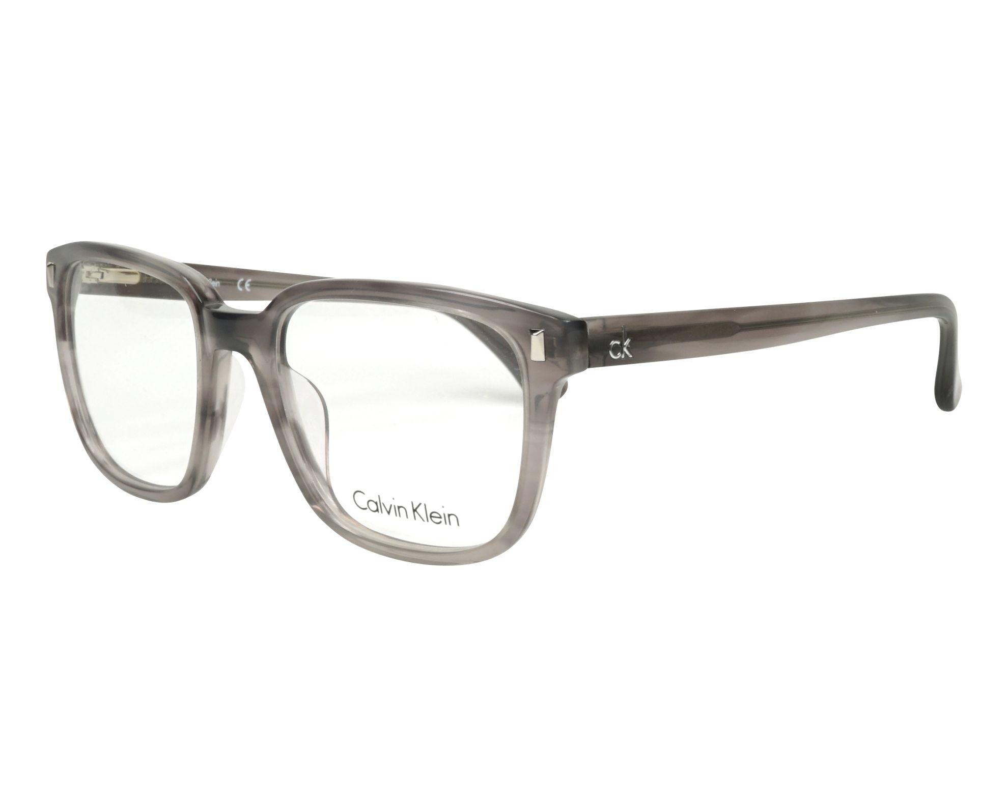8f08c4e1b3 Gafas Graduadas Calvin Klein CK-5862 275 52-19 Gris Gris vista de perfil