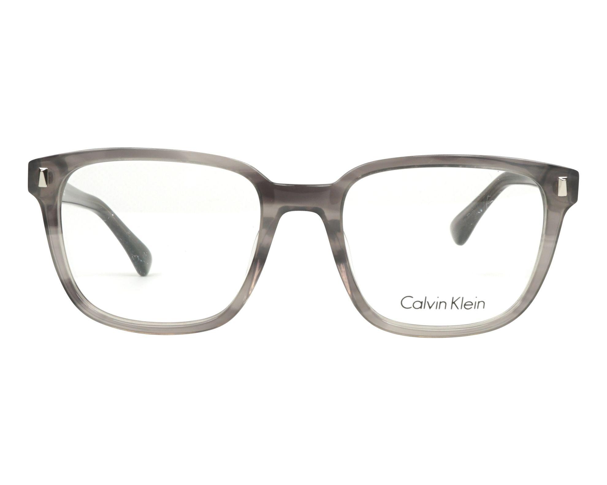 9ec1e6e721 Gafas Graduadas Calvin Klein CK-5862 275 52-19 Gris Gris vista de frente