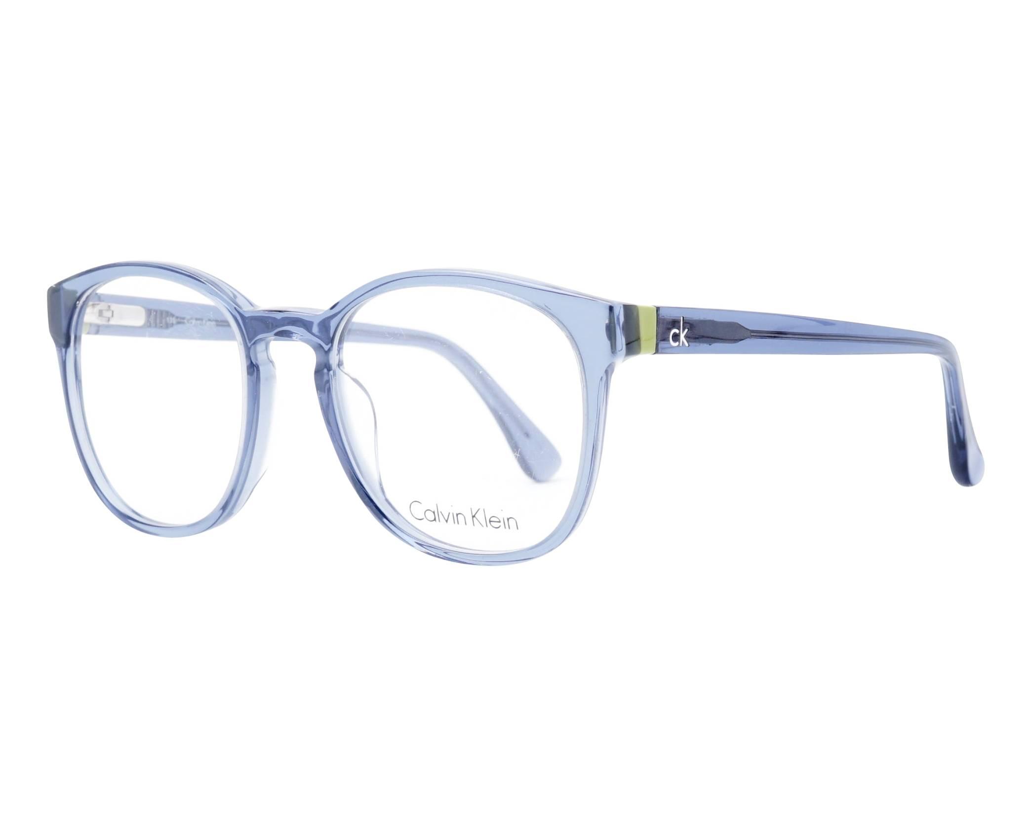 eb4a1d8295 Gafas Graduadas Calvin Klein CK-5880 423 51-20 Azul vista de perfil