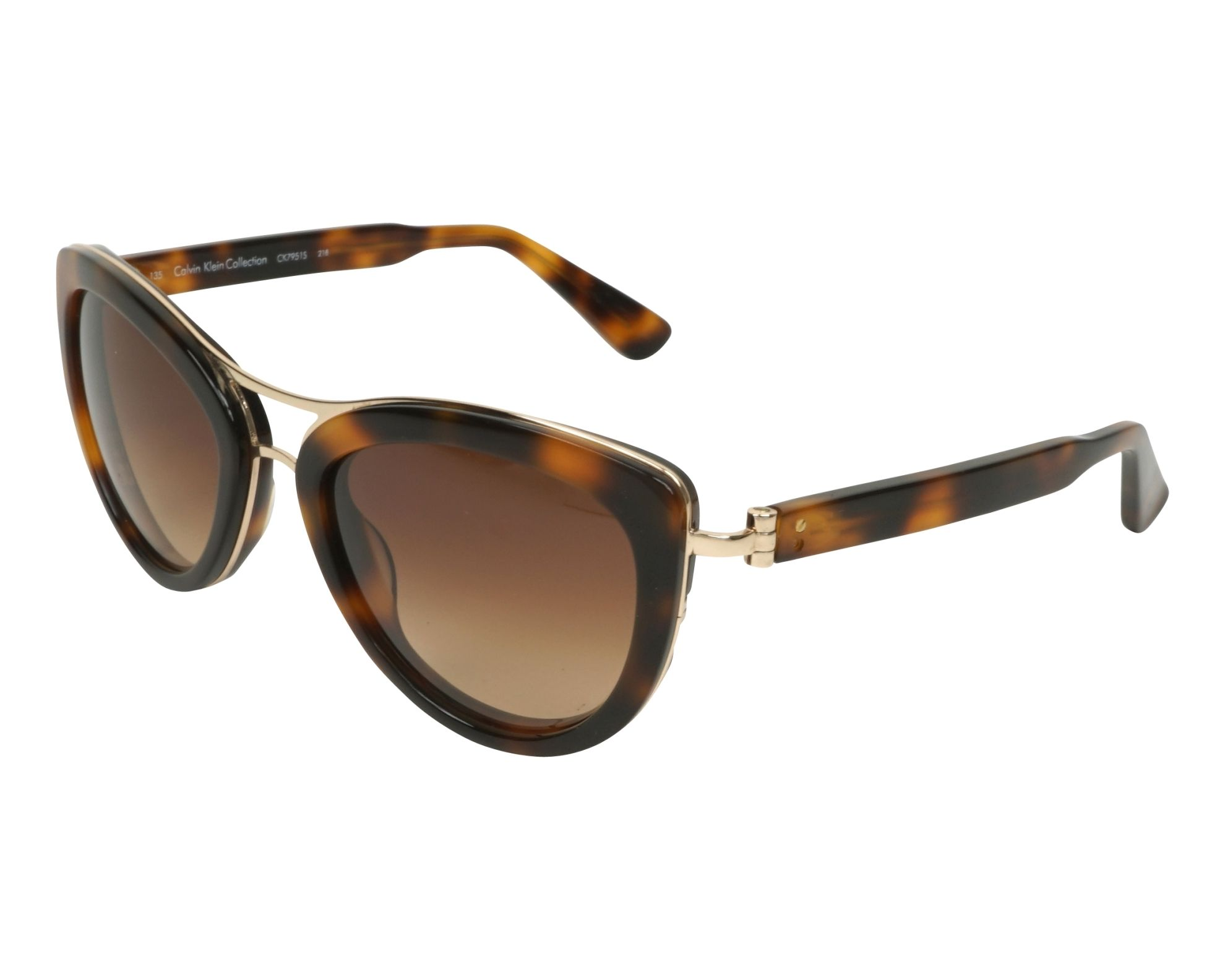 af3d1b4719 Gafas de sol Calvin Klein CK-7951-S 218 55-20 Havana Oro