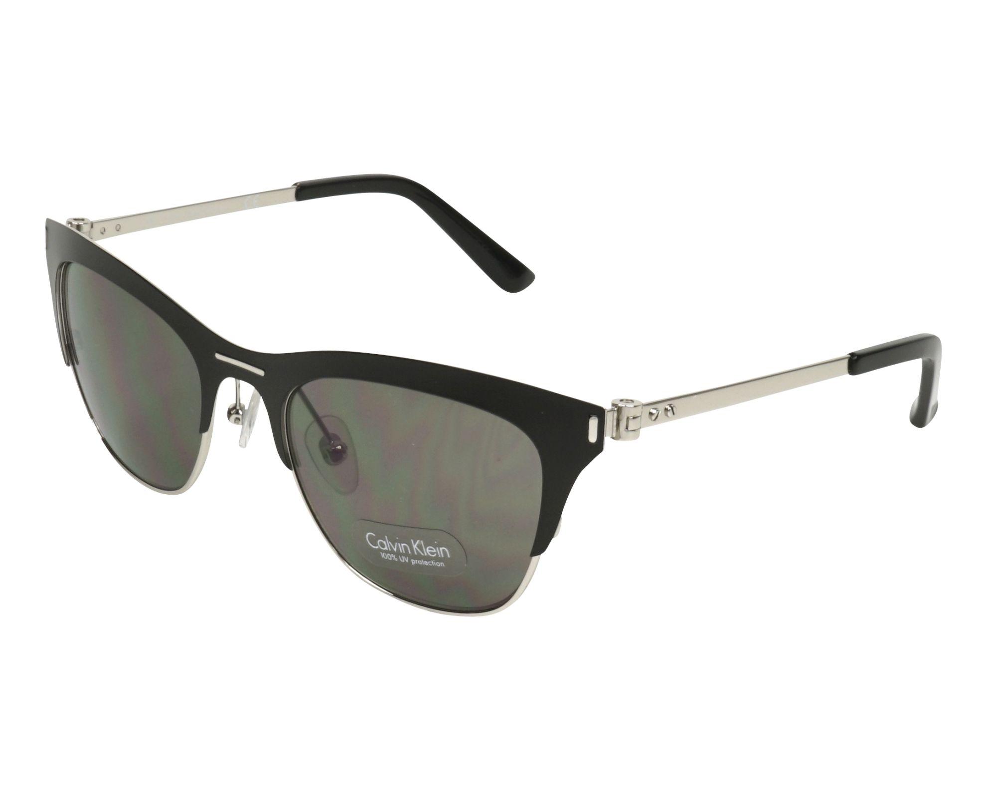 eab38dc025 Gafas de sol Calvin Klein CK-8005-S 001 53-20 Negra Plata