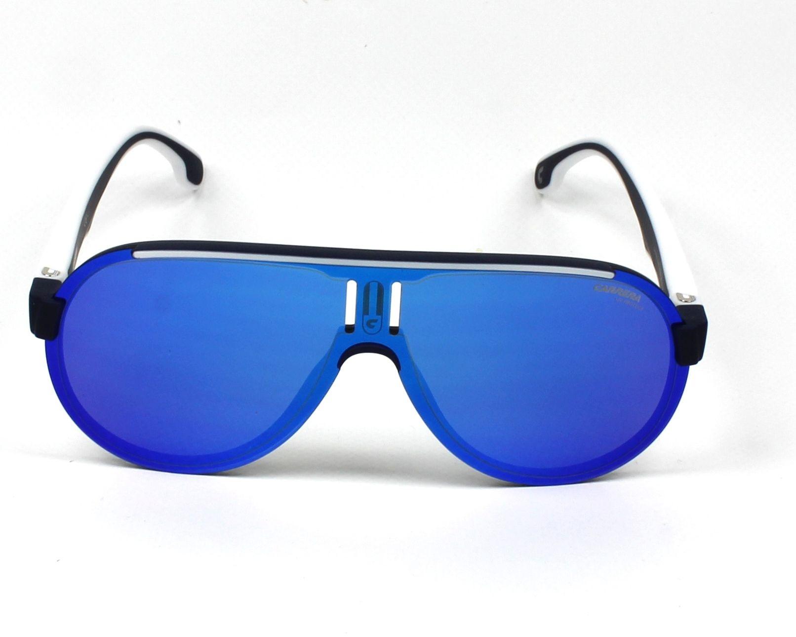 257ce65da4 Gafas de sol Carrera 1008-S RCT/Z0 99- Azul Blanco vista de