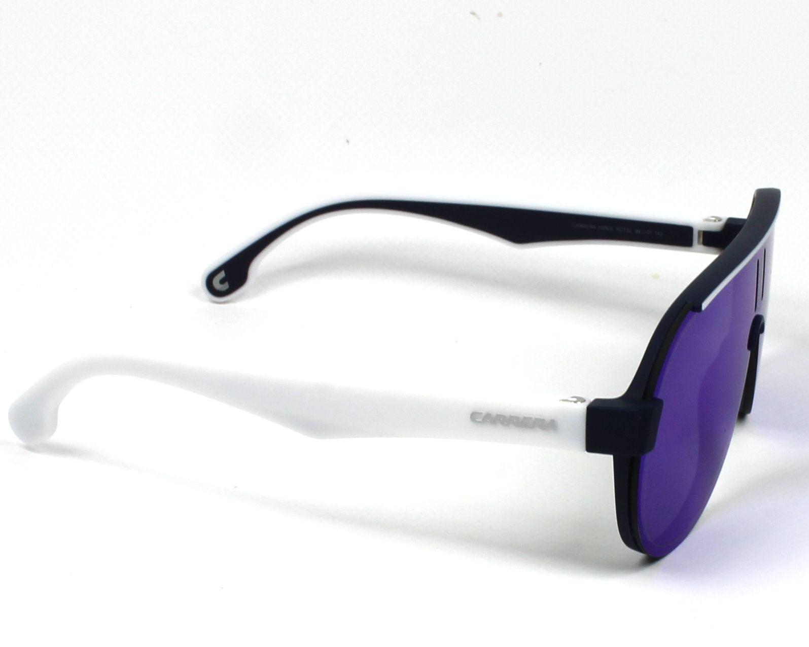 bdb03ebb08 Gafas de sol Carrera 1008-S RCT/Z0 99- Azul Blanco vista lateral