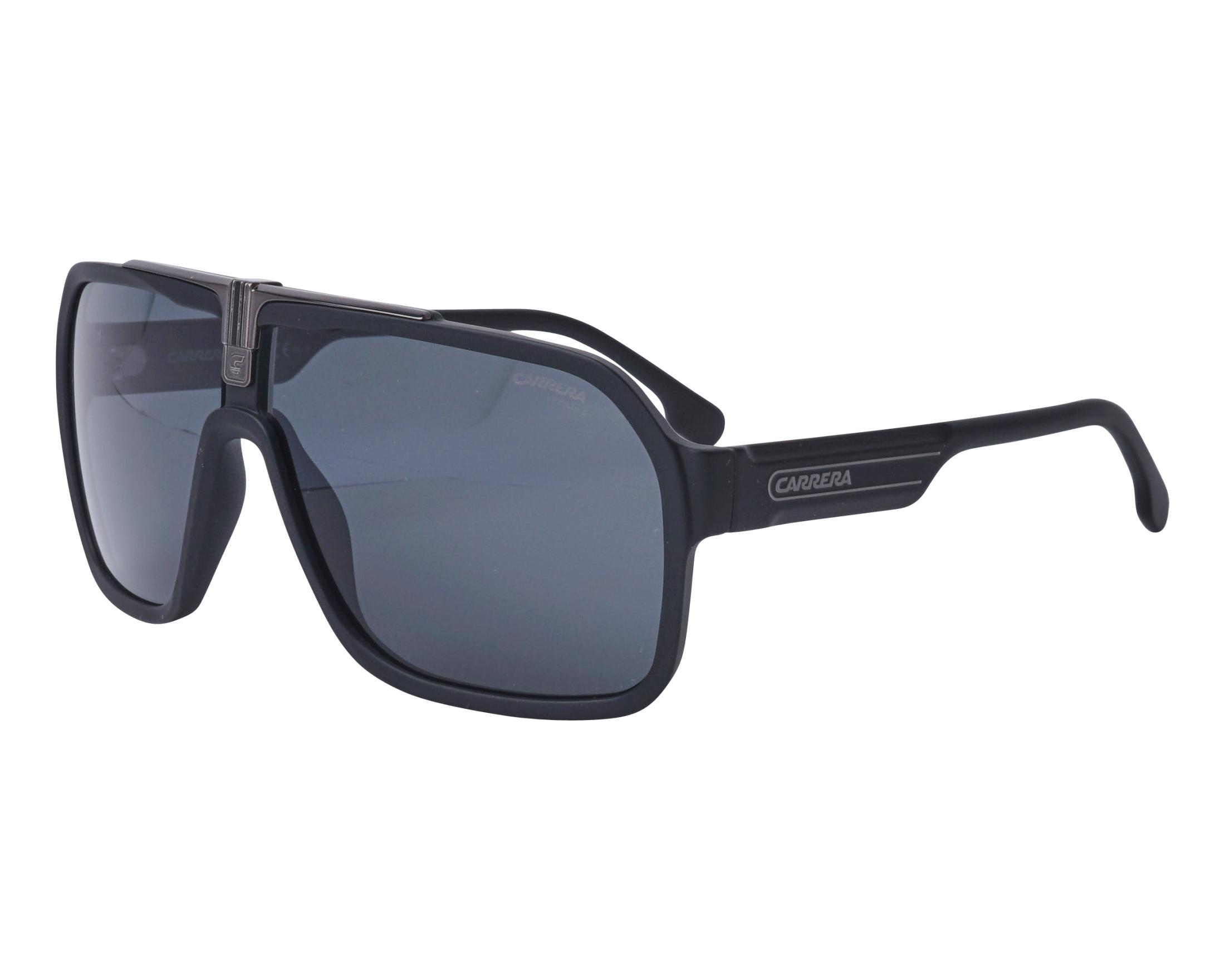 295328c700 Gafas de sol Carrera 1014-S 0032K 64-10 Negra Gun vista de perfil