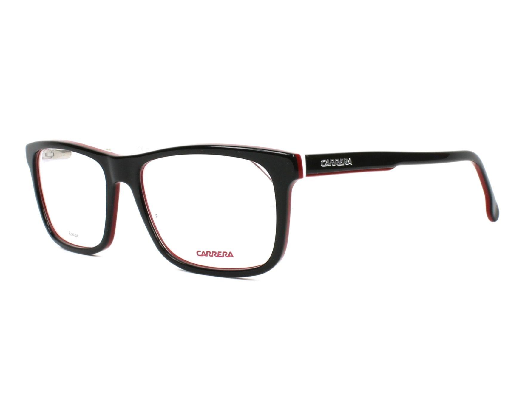 197ba3748e Gafas Graduadas Carrera 1106-V 807 55-17 Negra Blanco vista de perfil
