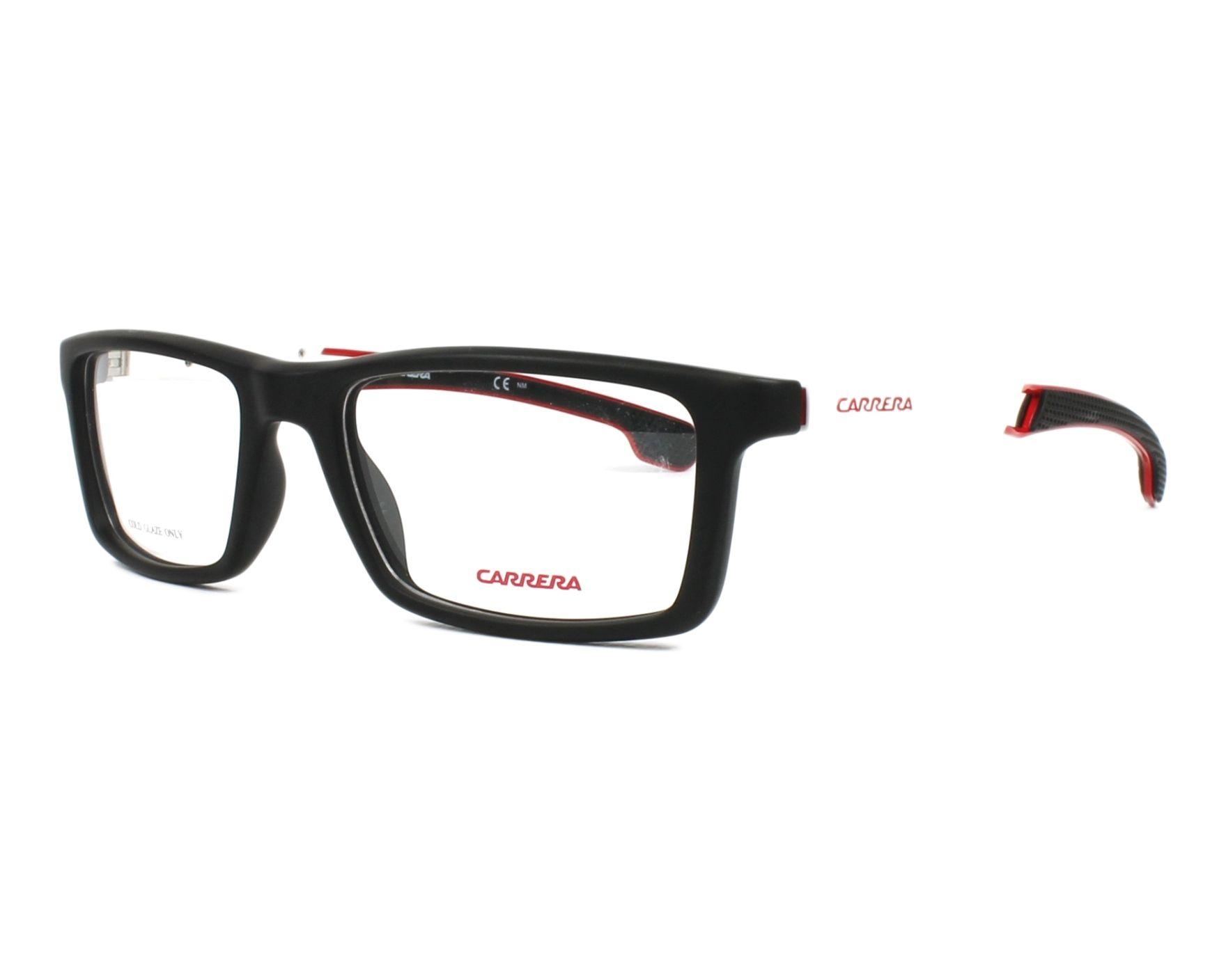 5bc0d39ff4 Gafas Graduadas Carrera 4406-V 003 53-18 Negra Blanco vista de perfil