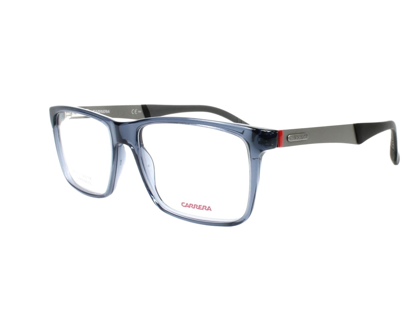 8775fdf3e5 Gafas Graduadas Carrera 8825-V PJP 55-17 Azul Gris vista de perfil