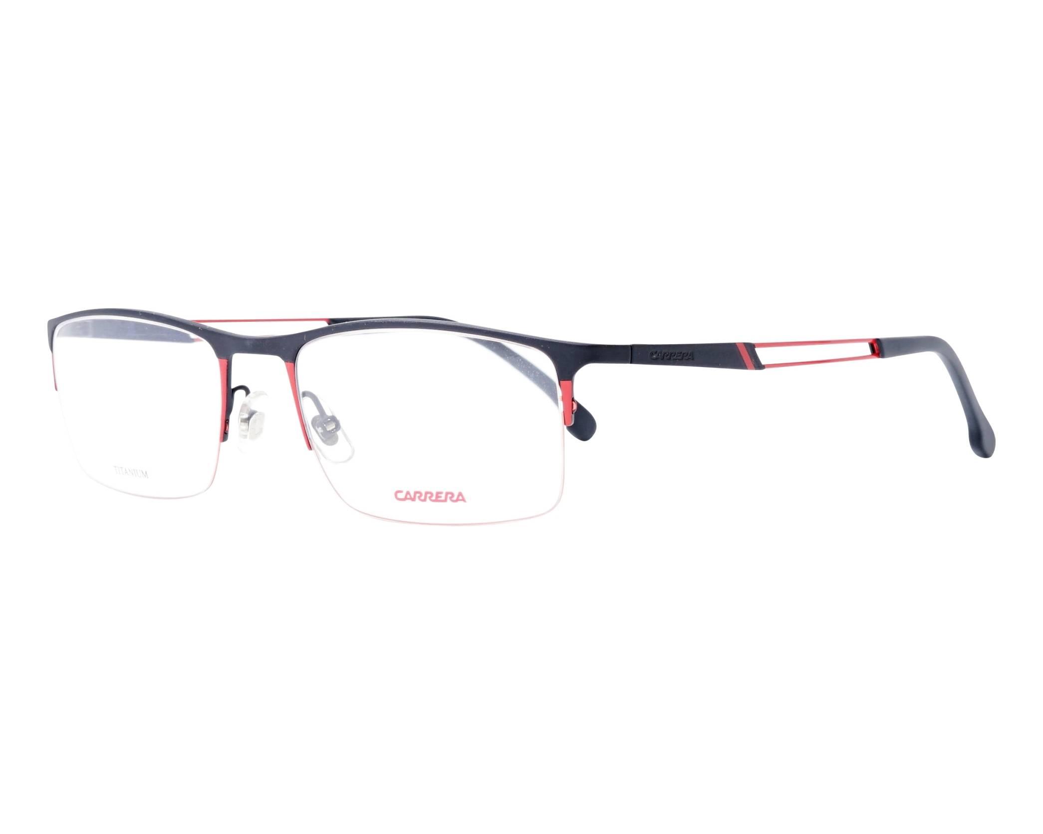d5ee82b619 Gafas Graduadas Carrera 8832 OIT 55-19 Negra Rojo vista de perfil