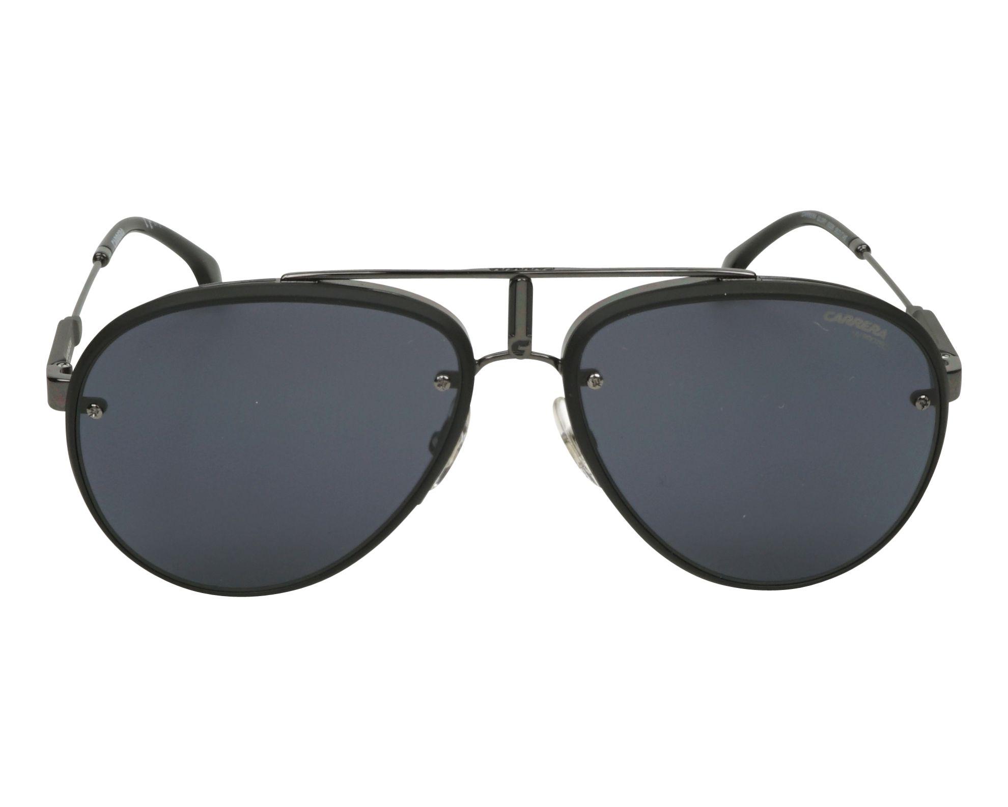 Gafas de sol Carrera GLORY 003 2K 58-17 Negra Gun vista de frente 22041e19df