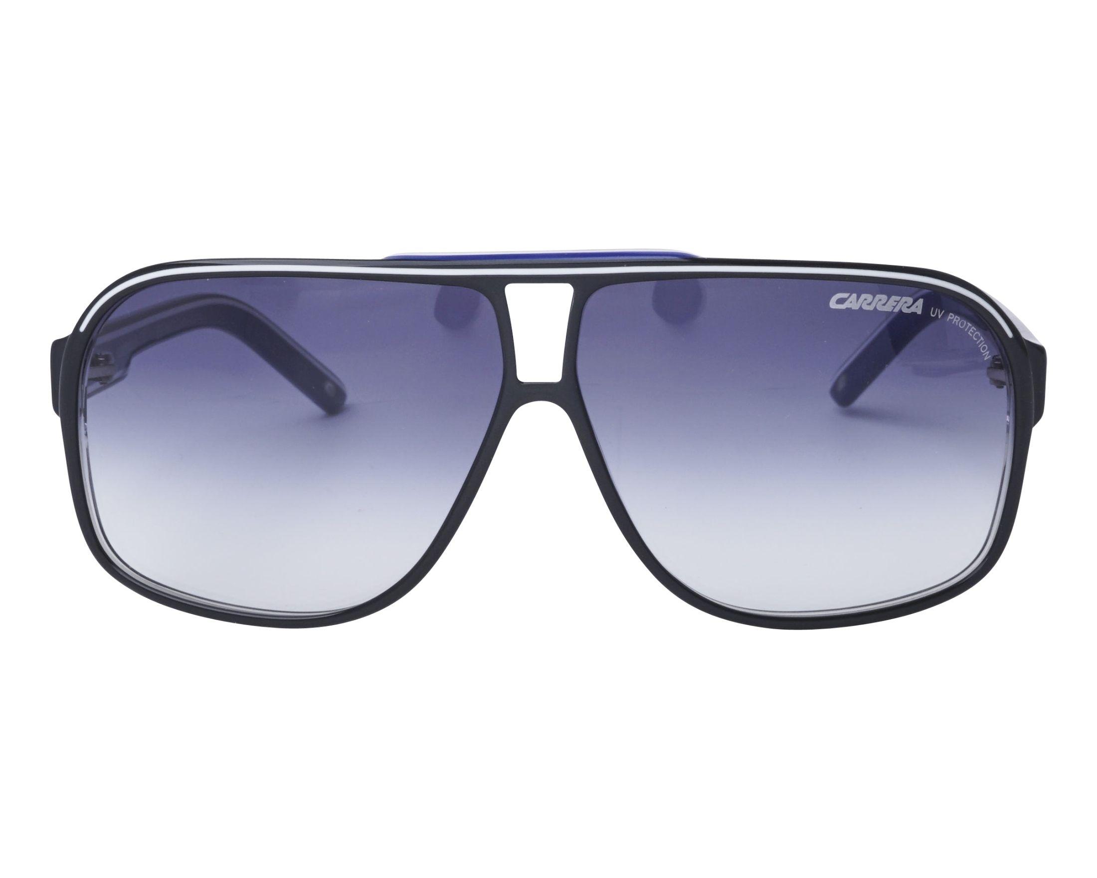 79a69eb6fe Gafas de sol Carrera Grand-Prix-2 T5C08 64-9 Negra Azul vista