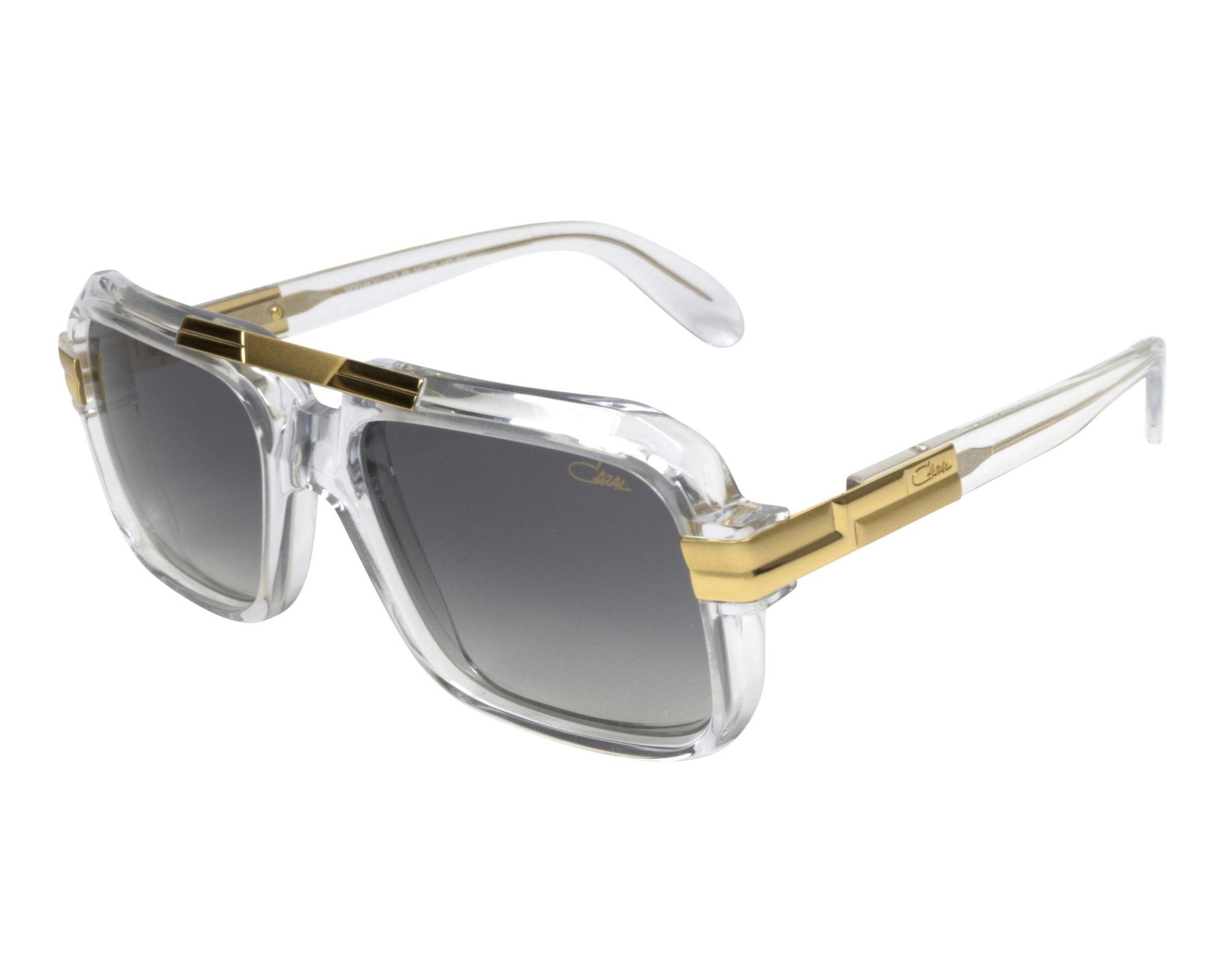 4b523f88ef Gafas de sol Cazal 663-3 065 56-18 Cristal Oro vista de perfil