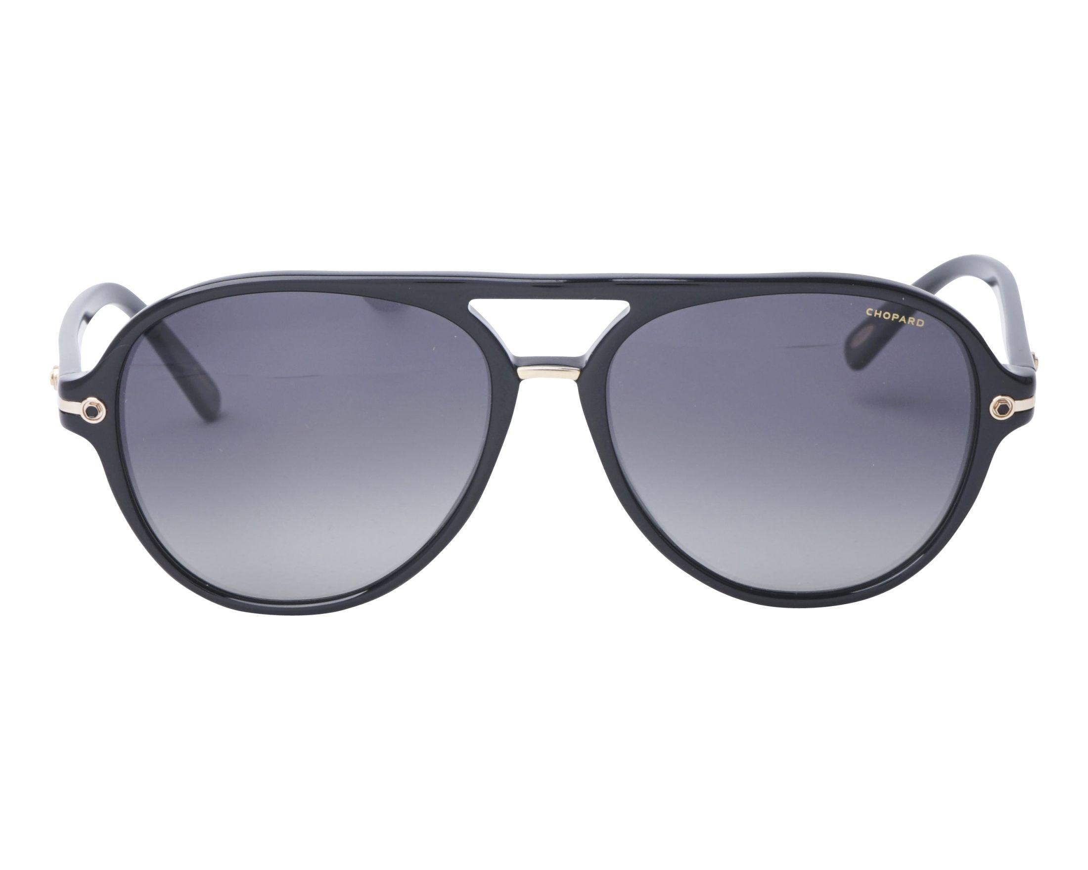 6c4581028e Gafas de sol Chopard SCH-193 700P 58-16 Negra vista de frente