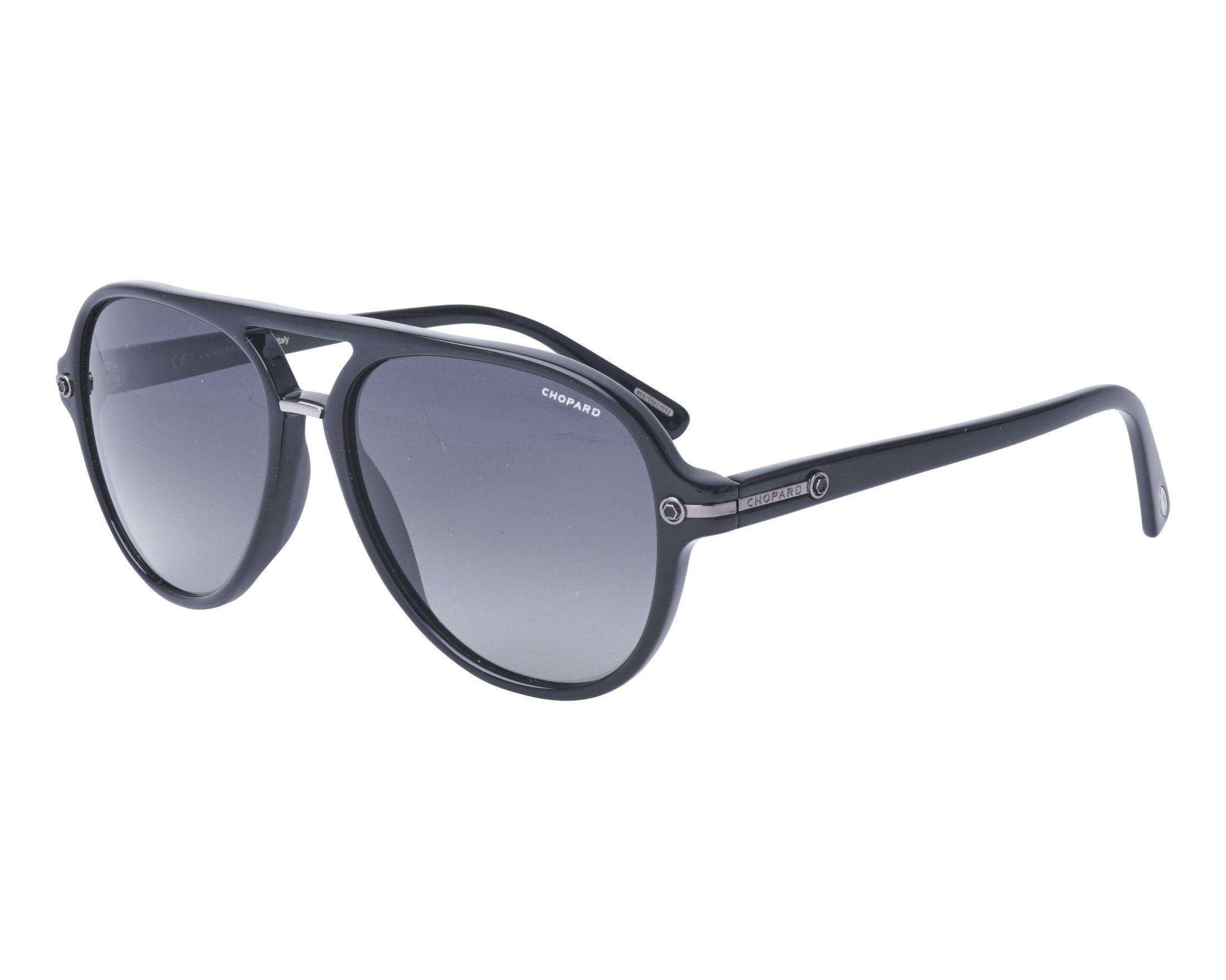 ec252525c5 Gafas de sol Chopard SCH-193 700Z 58-16 Negra vista de perfil