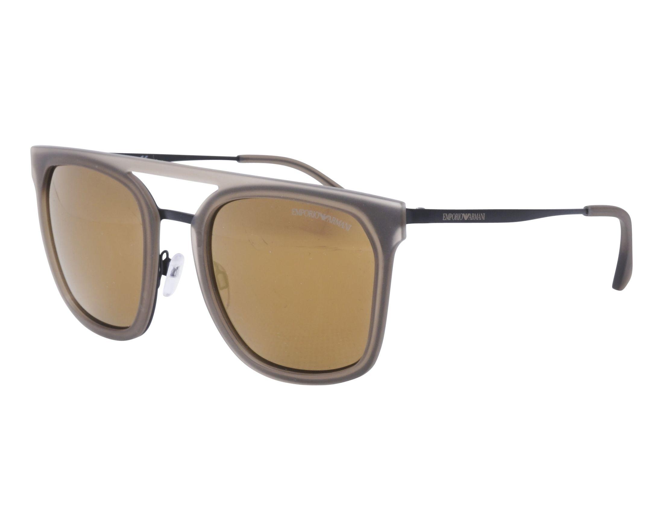 3fc842c4c3 Gafas de sol Emporio Armani EA-2062 30017D 54-23 Negra Gris vista de