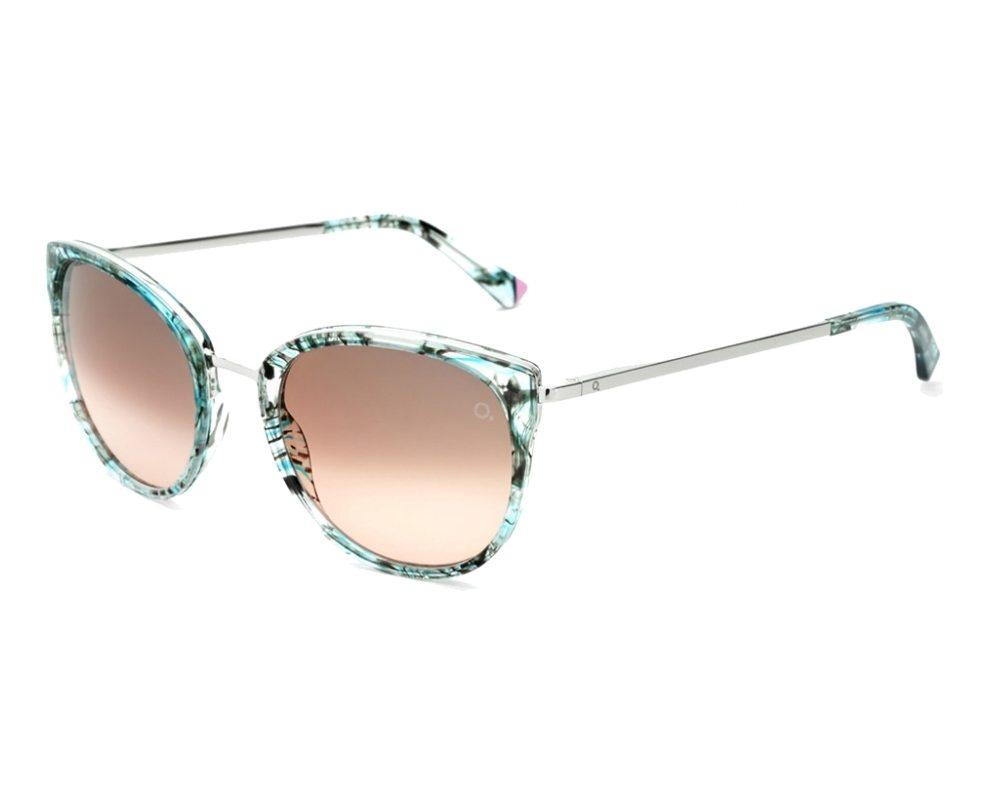 e19ff8b433 Gafas de sol Etnia Barcelona PRINCESA TQPK - Turquoise Plata vista de perfil