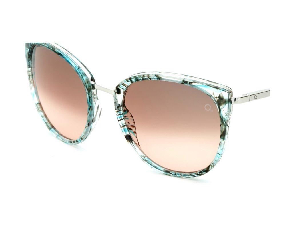 a9f3b0a4e7 Gafas de sol Etnia Barcelona PRINCESA TQPK - Turquoise Plata vista de frente
