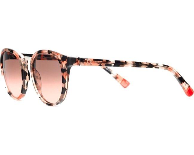013d3e07af Gafas de sol Etnia Barcelona TALLERS BKCO 50-19 Negra Rosa vista de perfil