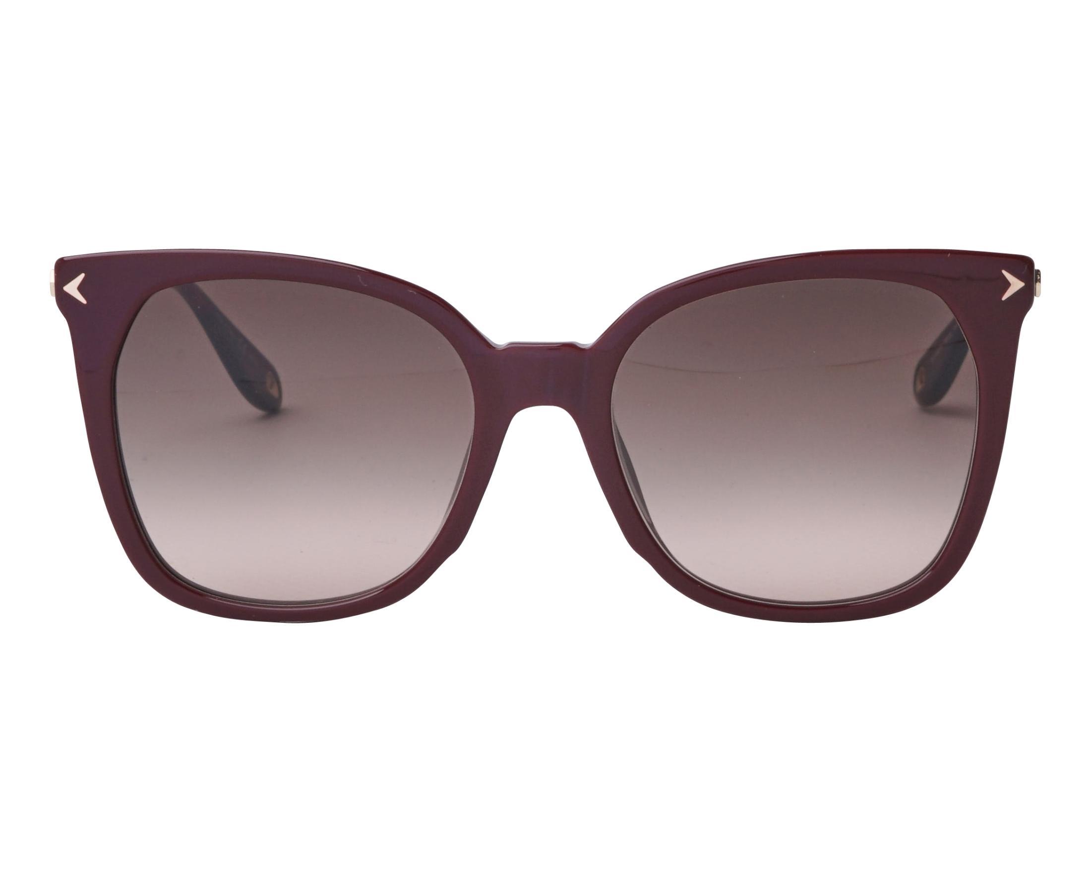 e11fb6d519 Gafas de sol Givenchy GV-7097-S C9AHA 54-19 Bordeaux Oro vista