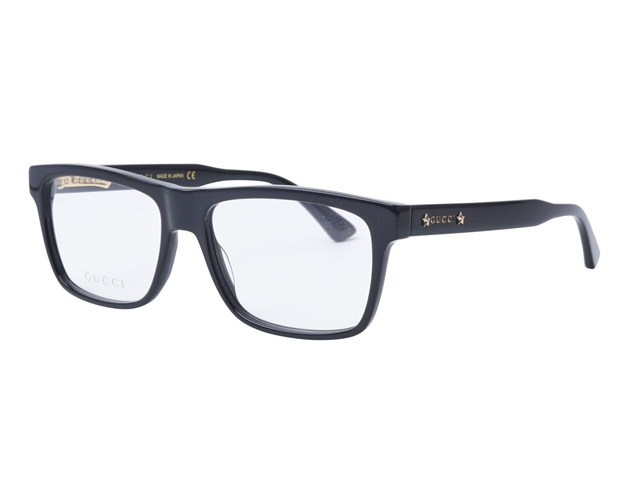 ee79b1d967 Gafas Graduadas Gucci GG-0269-O 001 - Negra vista de perfil